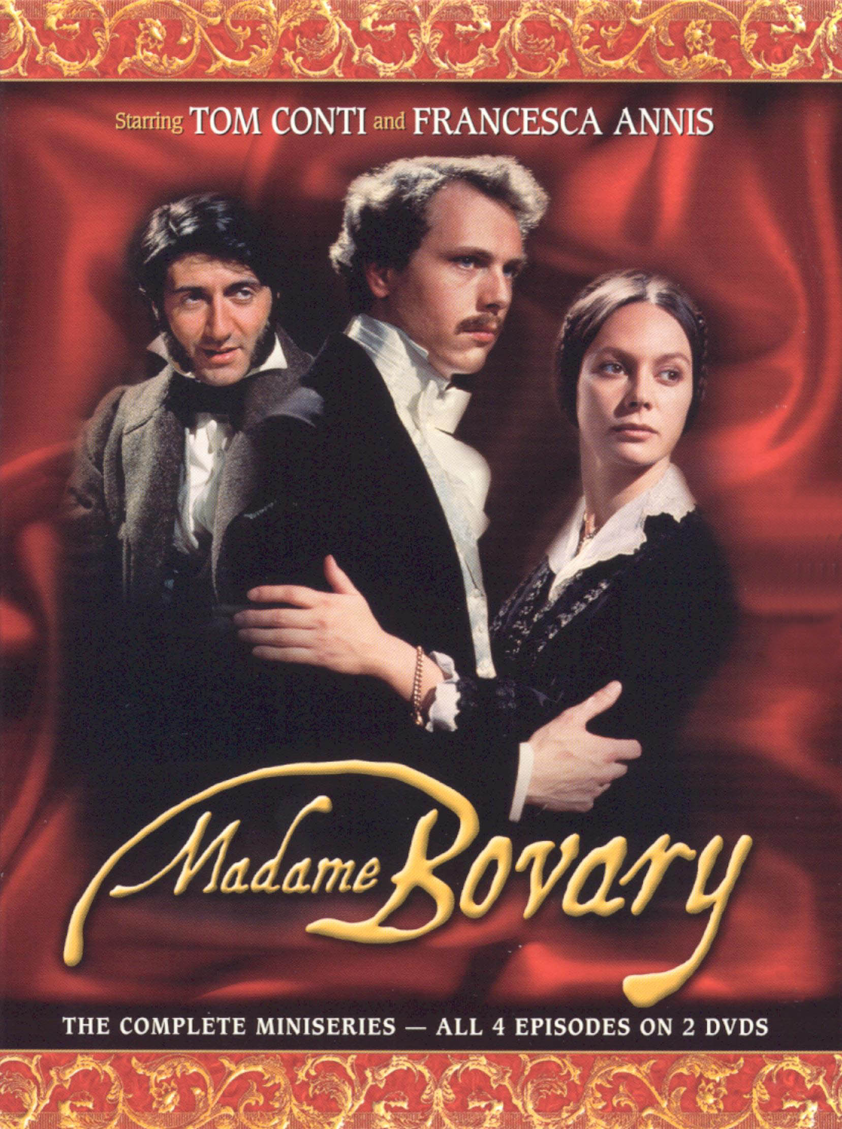 passion and personal gains drowns madame bovary