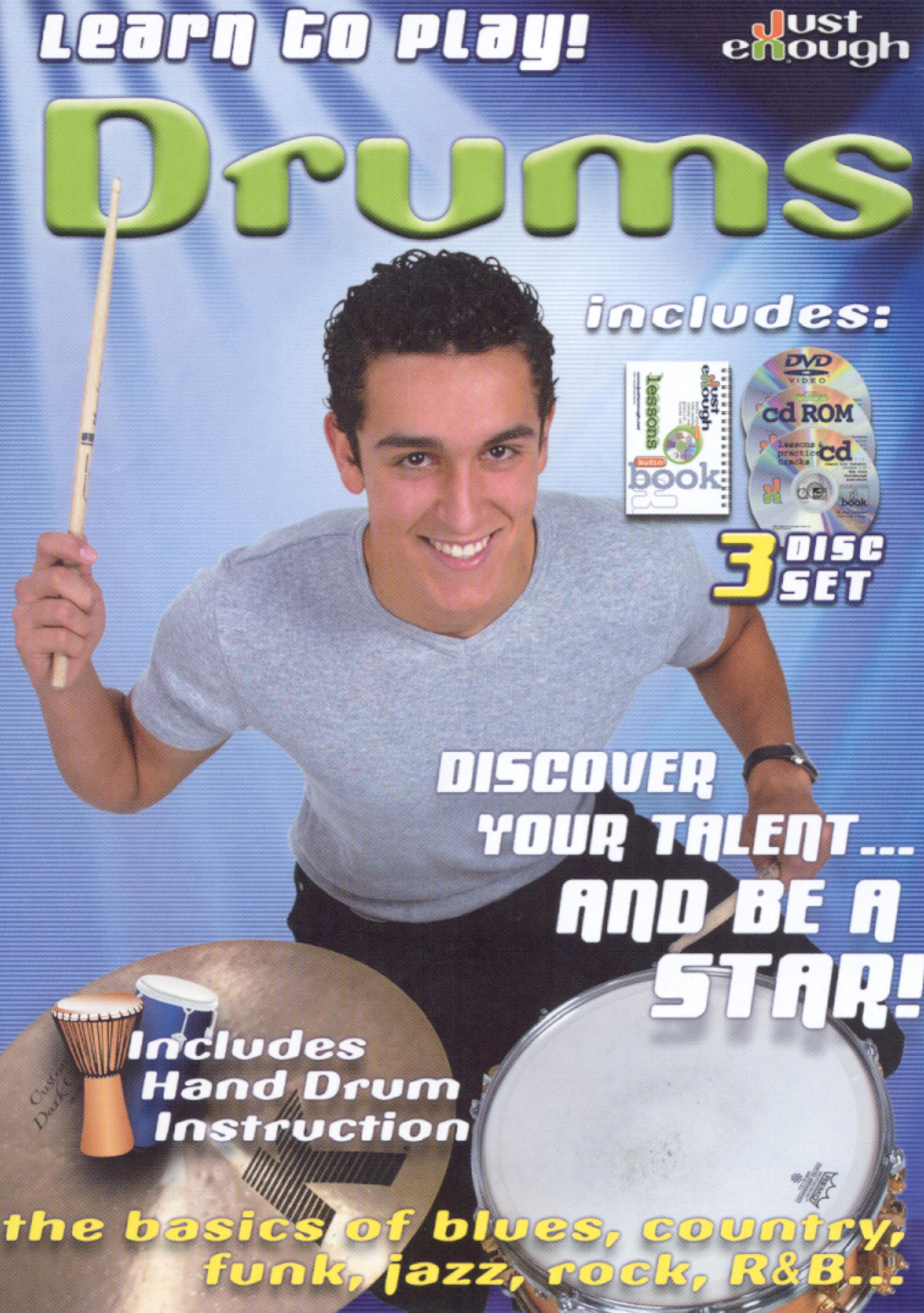 JustEnough: Learn to Play Drums