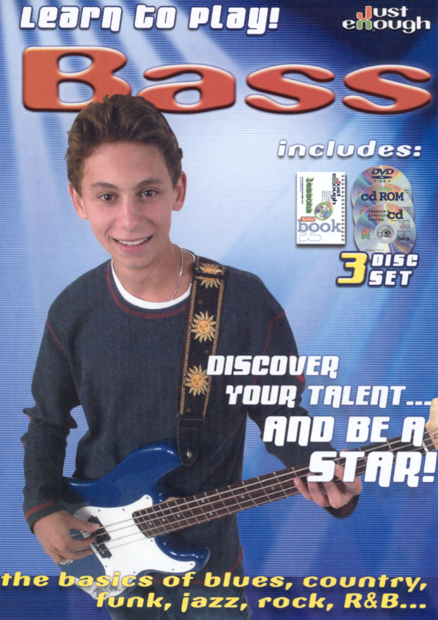 JustEnough: Learn to Play Bass