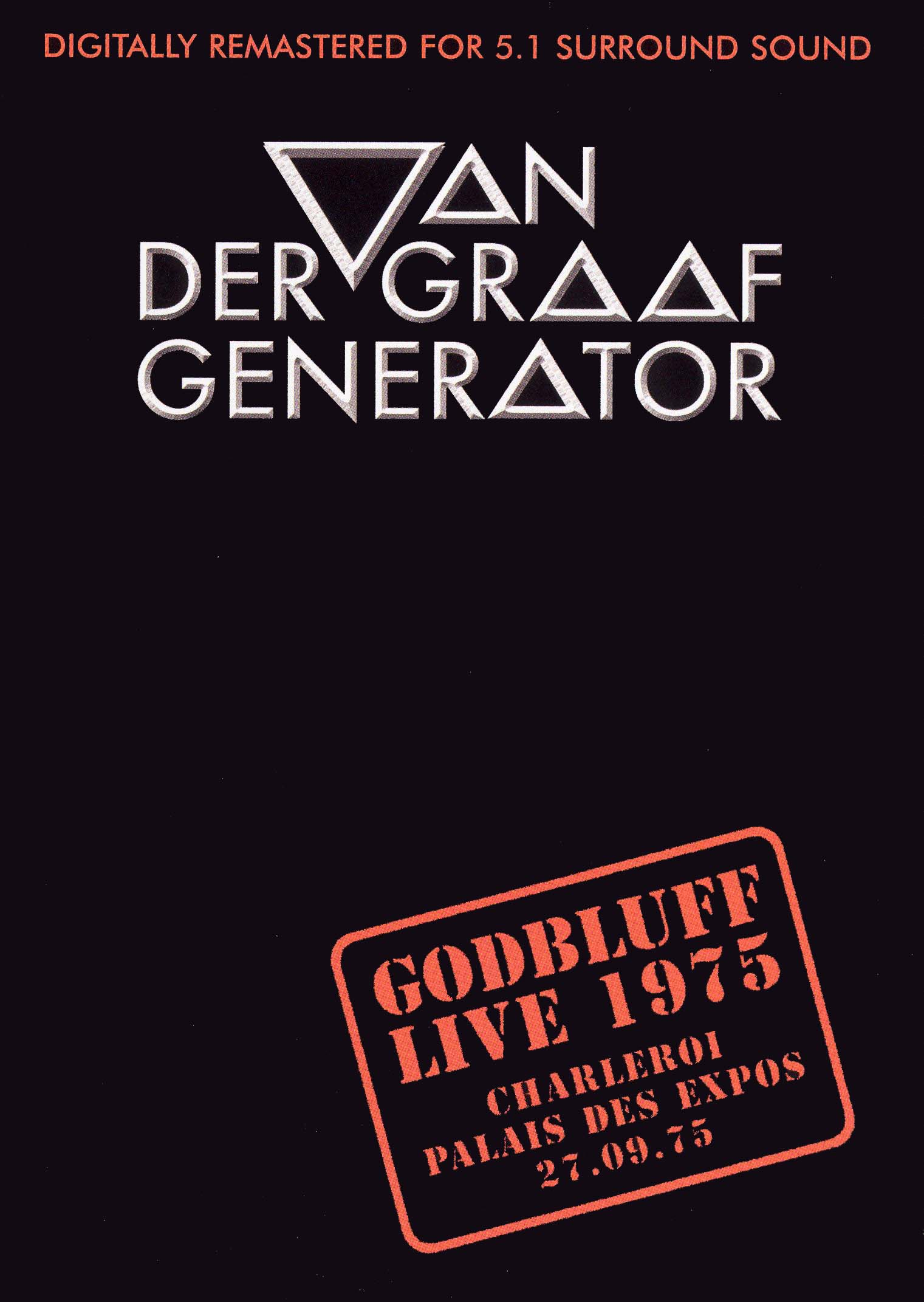 Van Der Graaf Generator: Godbluff - Live 1975