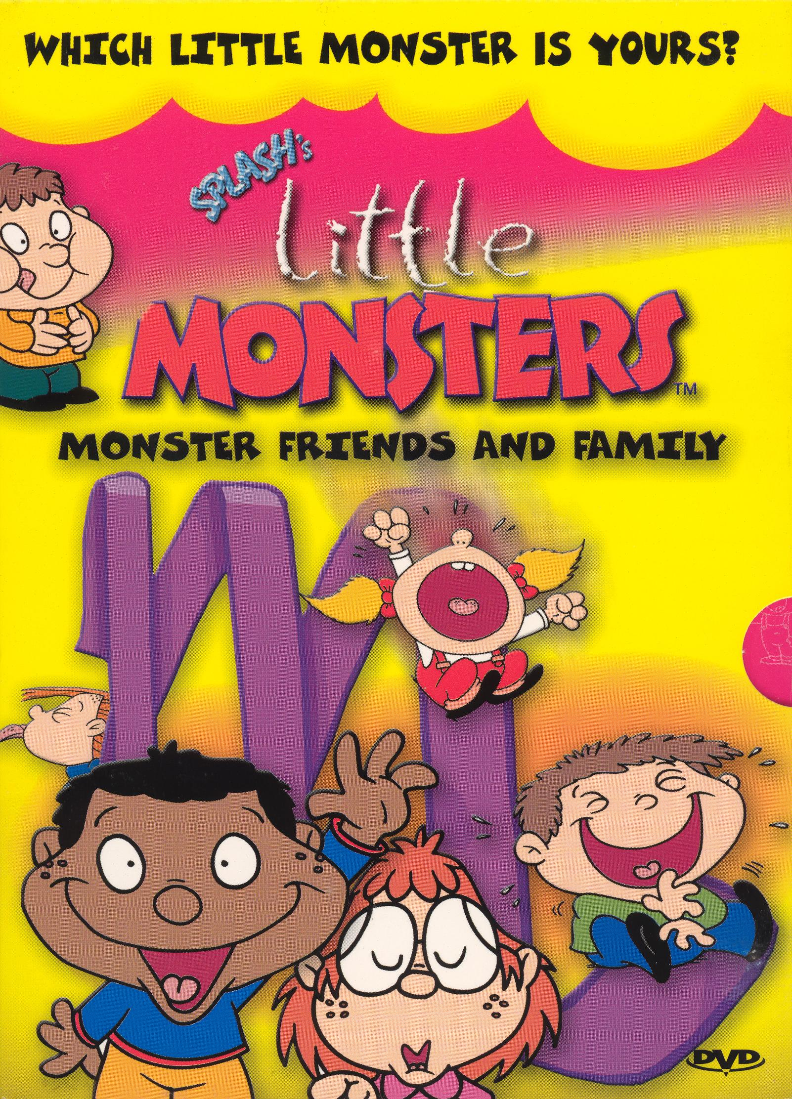 Little Monsters: Monster Friends and Family