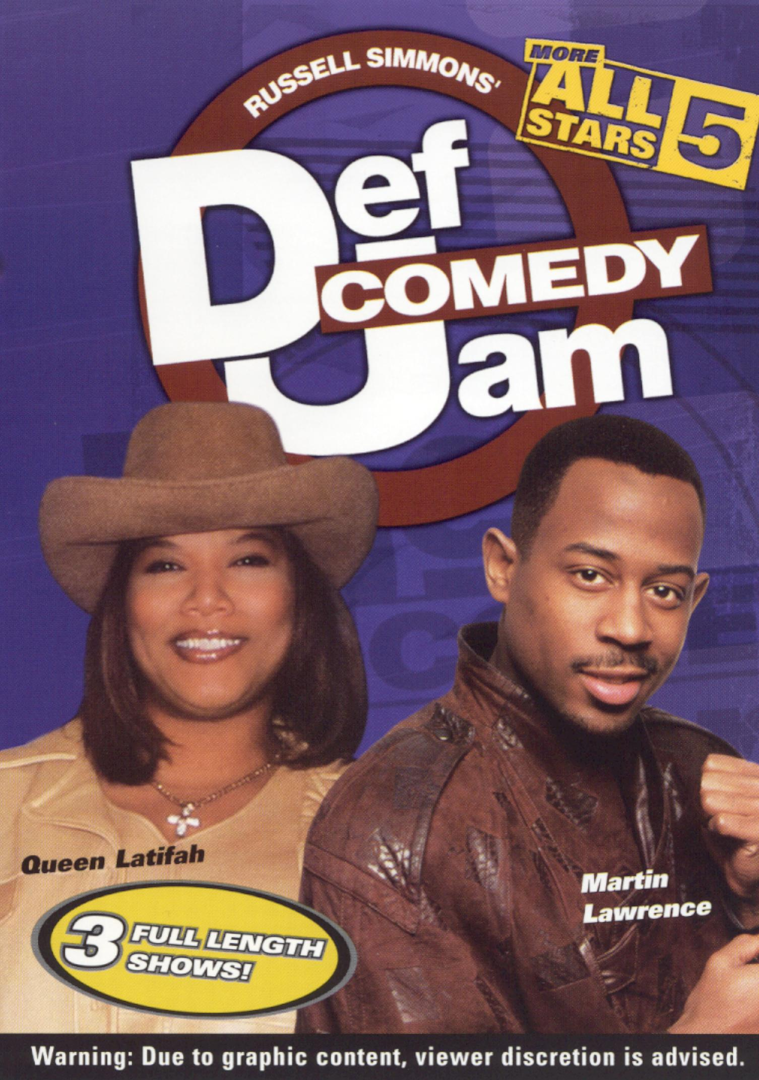 Def Comedy Jam: More All Stars, Vol. 5