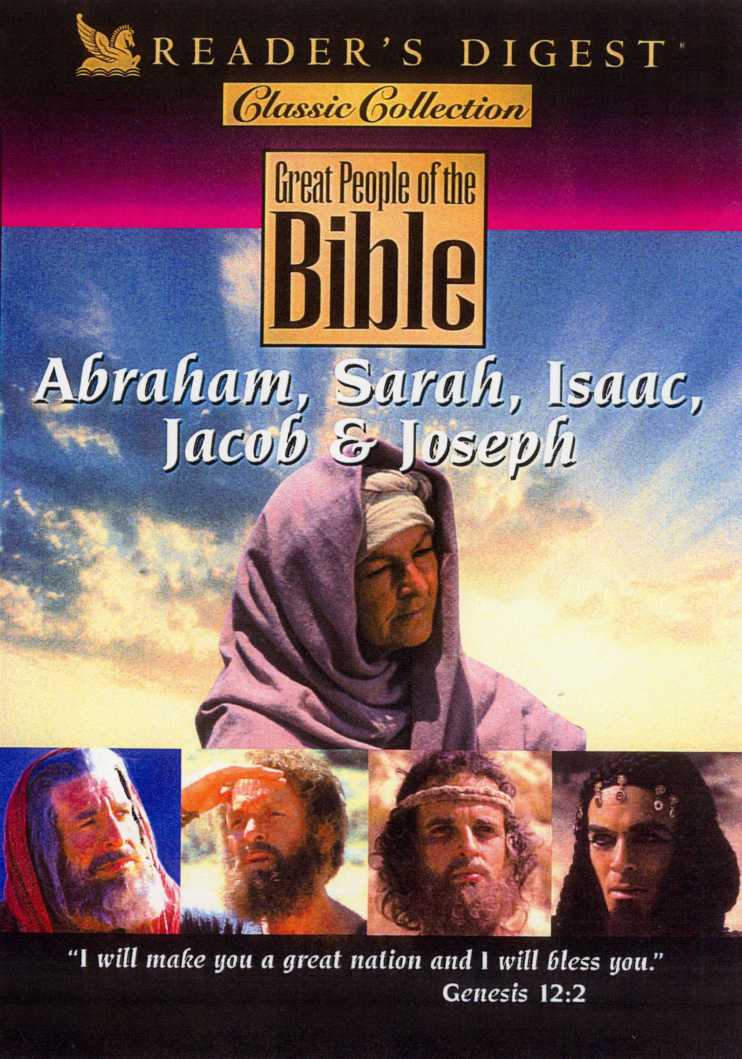 Reader's Digest: Great People of the Bible - Abraham, Sarah, Isaac, Jacob & Joseph