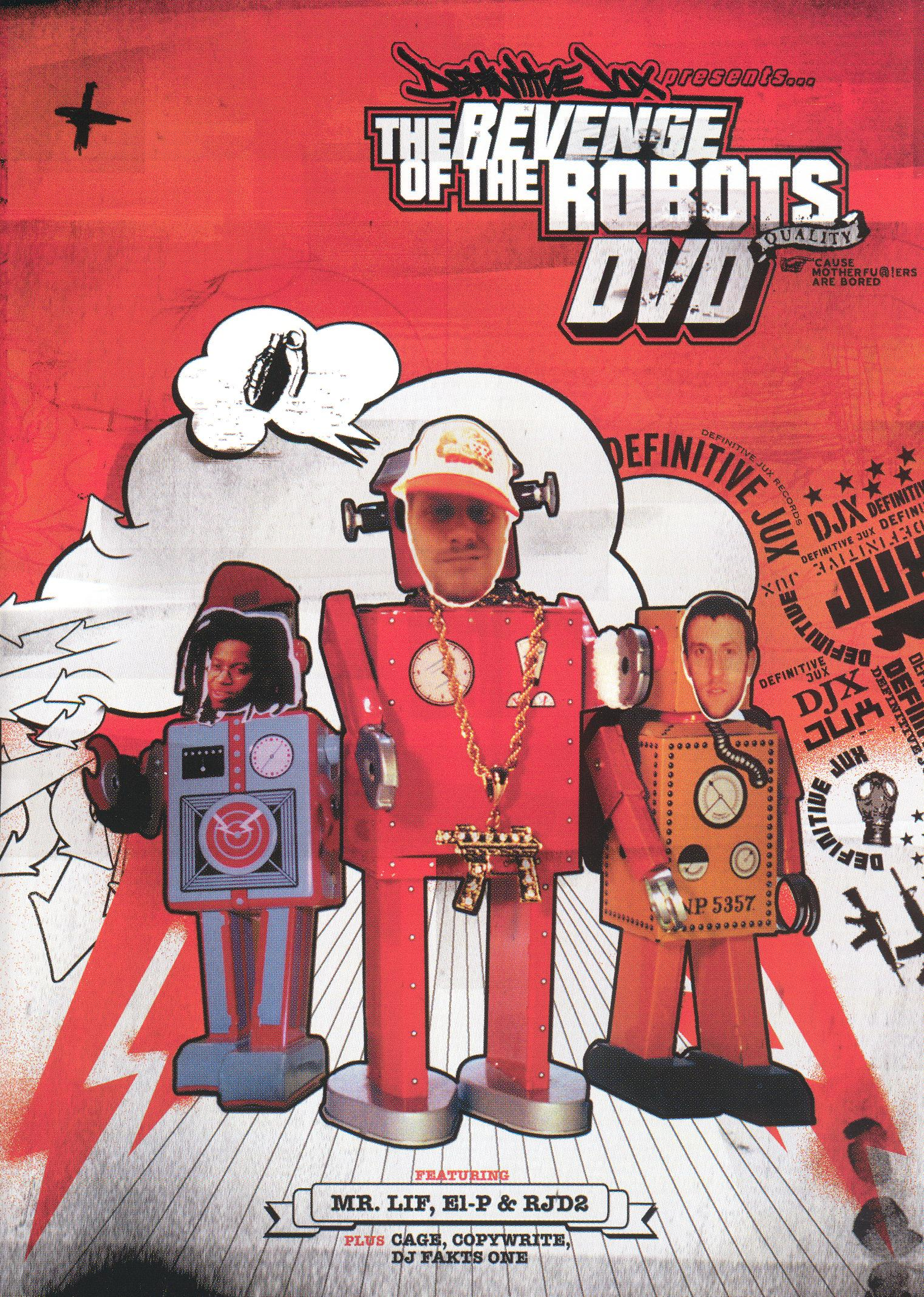 Definitive Jux Presents: The Revenge of the Robots