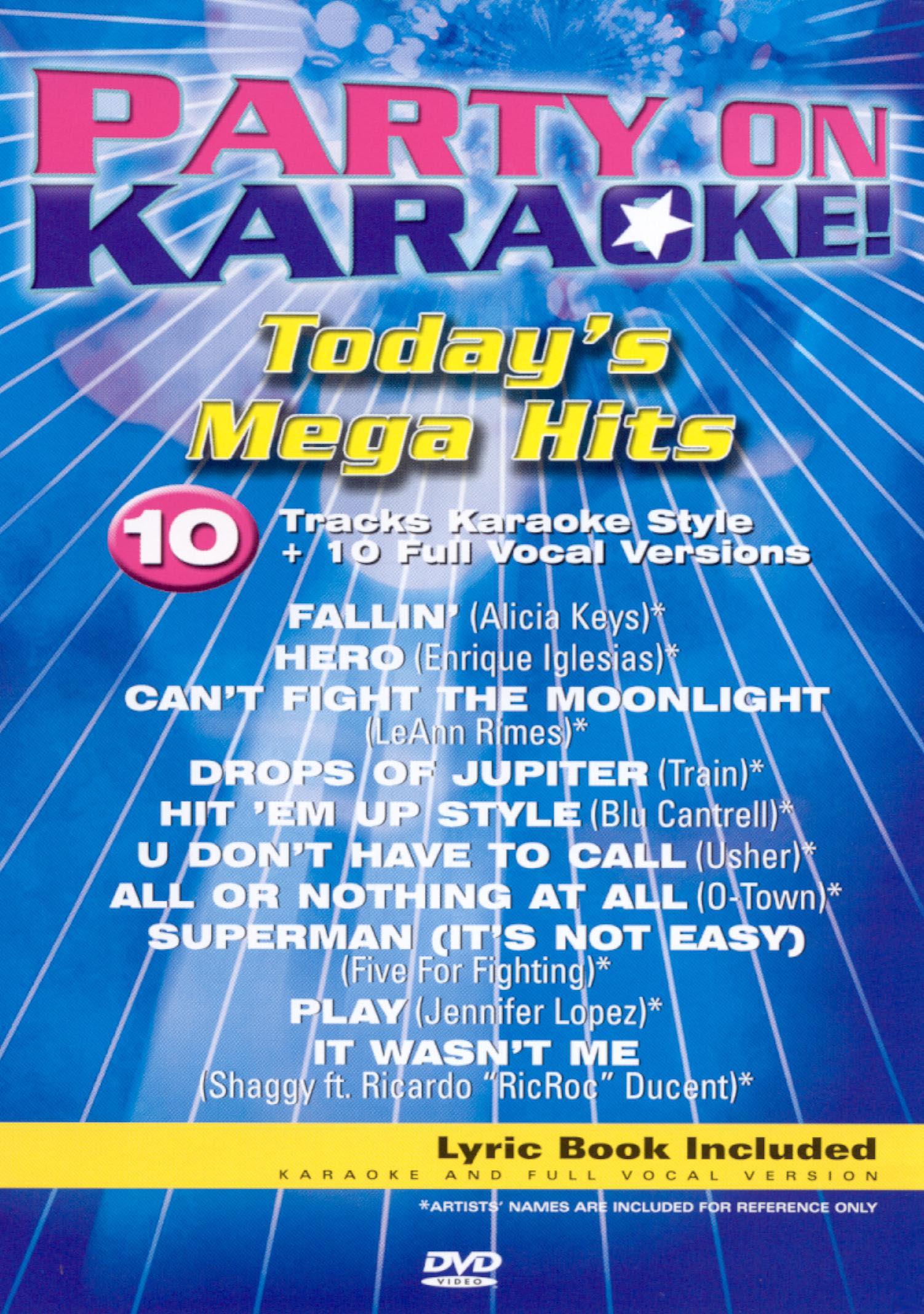 Party On Karaoke! Today's Mega Hits