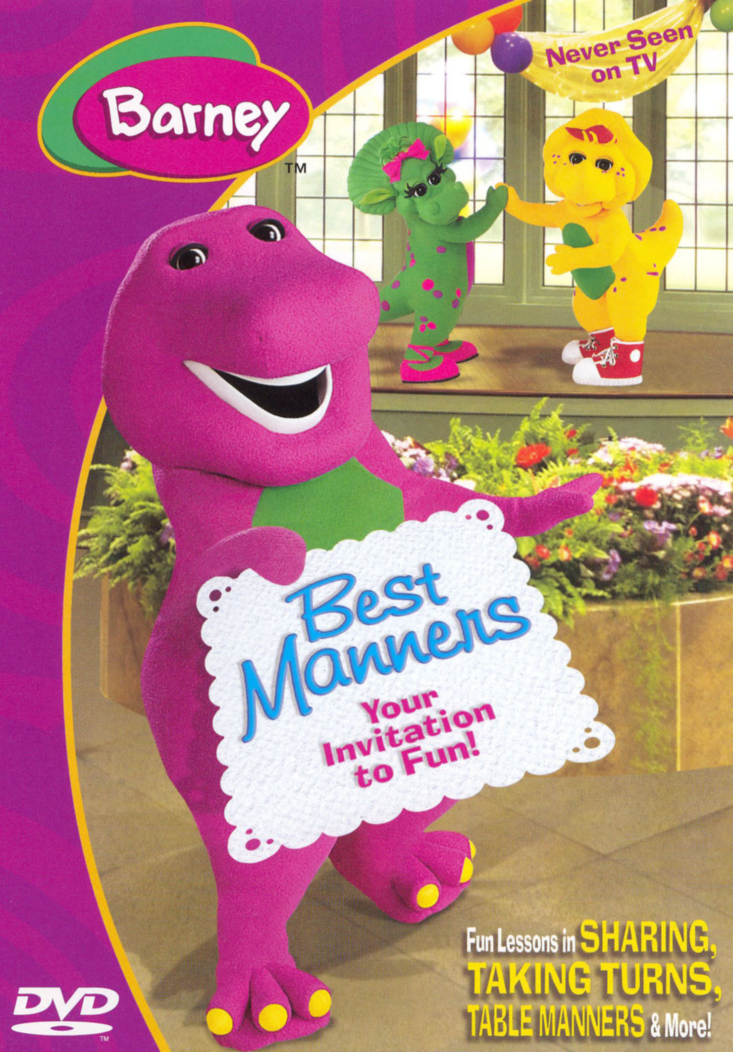Barney: Best Manners - Invitation to Fun
