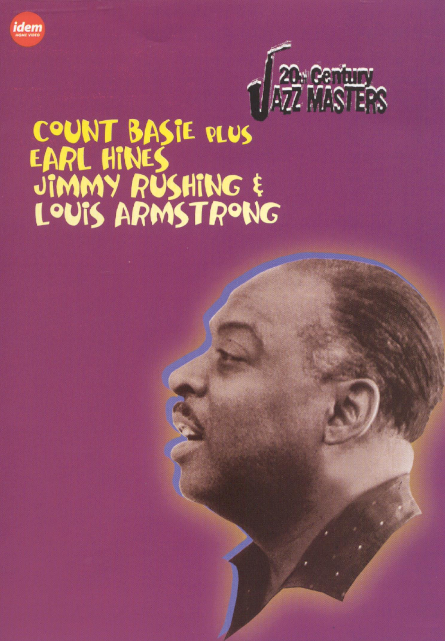 20th Century Jazz Masters: Count Basie/Earl Hines/Jimmy Rushing/Louis Armstrong