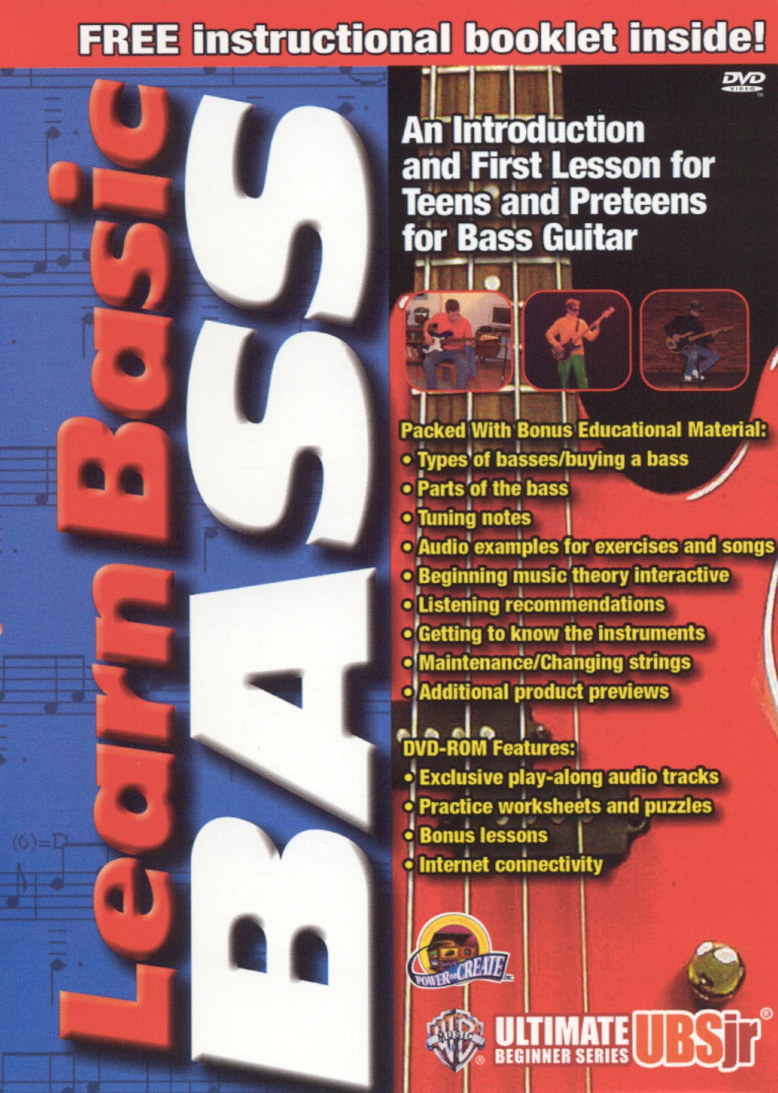 Ultimate Beginner Jr.: Learn Basic Bass