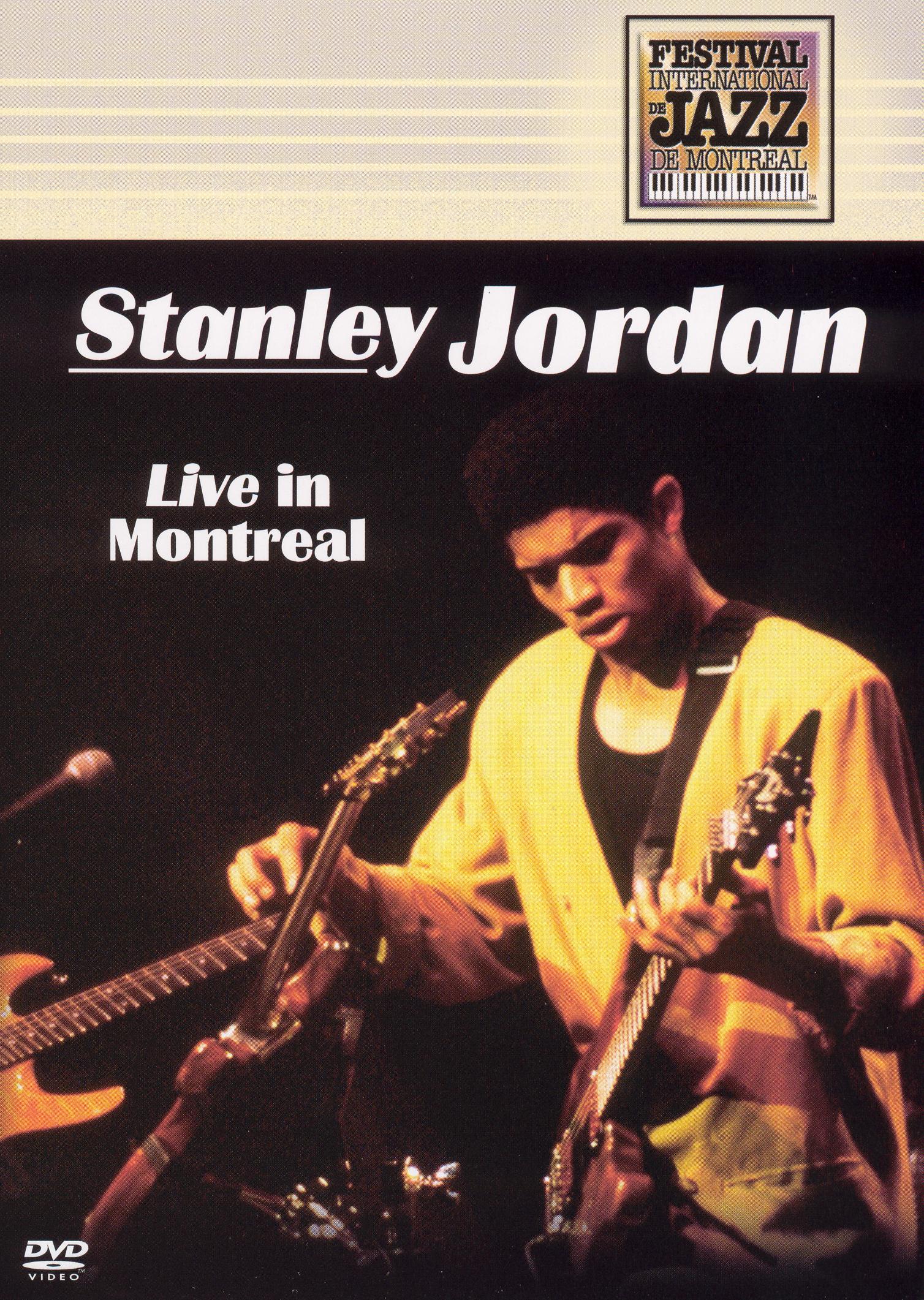 Stanley Jordan: Live in Montreal