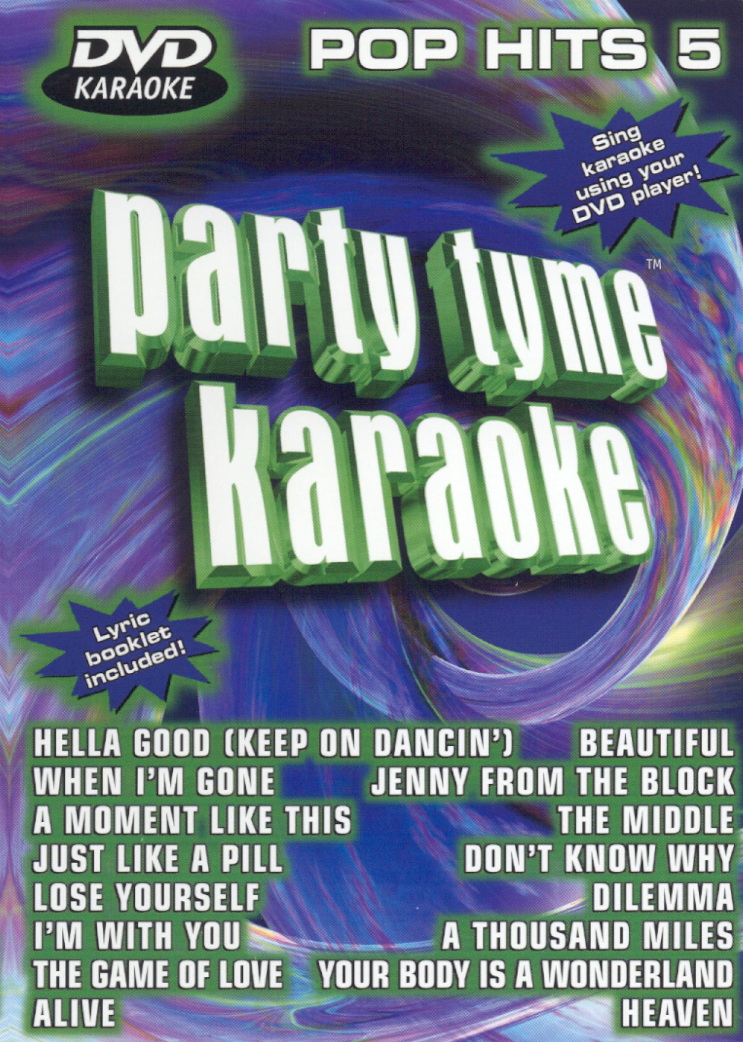 Party Tyme Karaoke: Pop Hits, Vol. 5