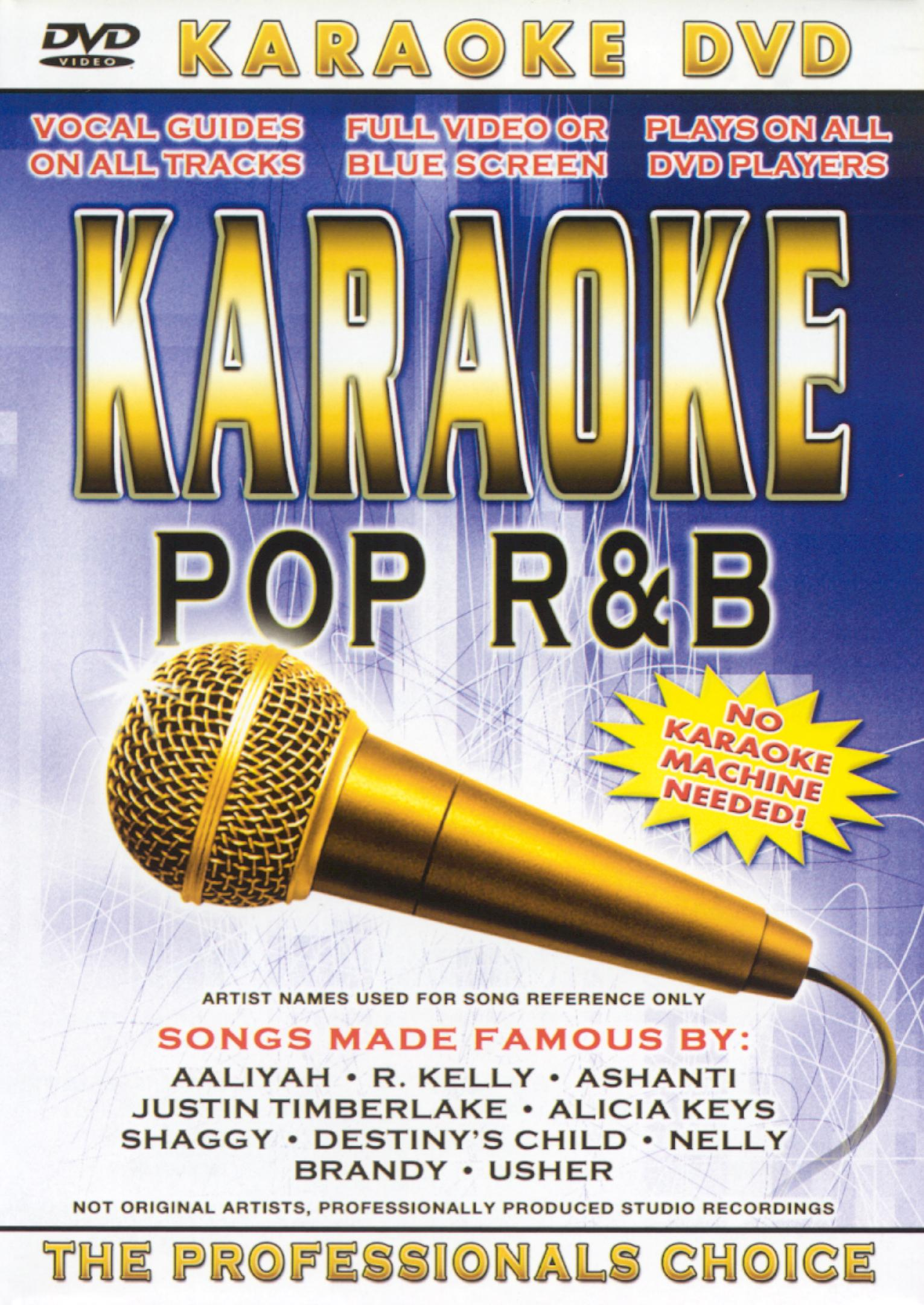 Karaoke: Pop R&B