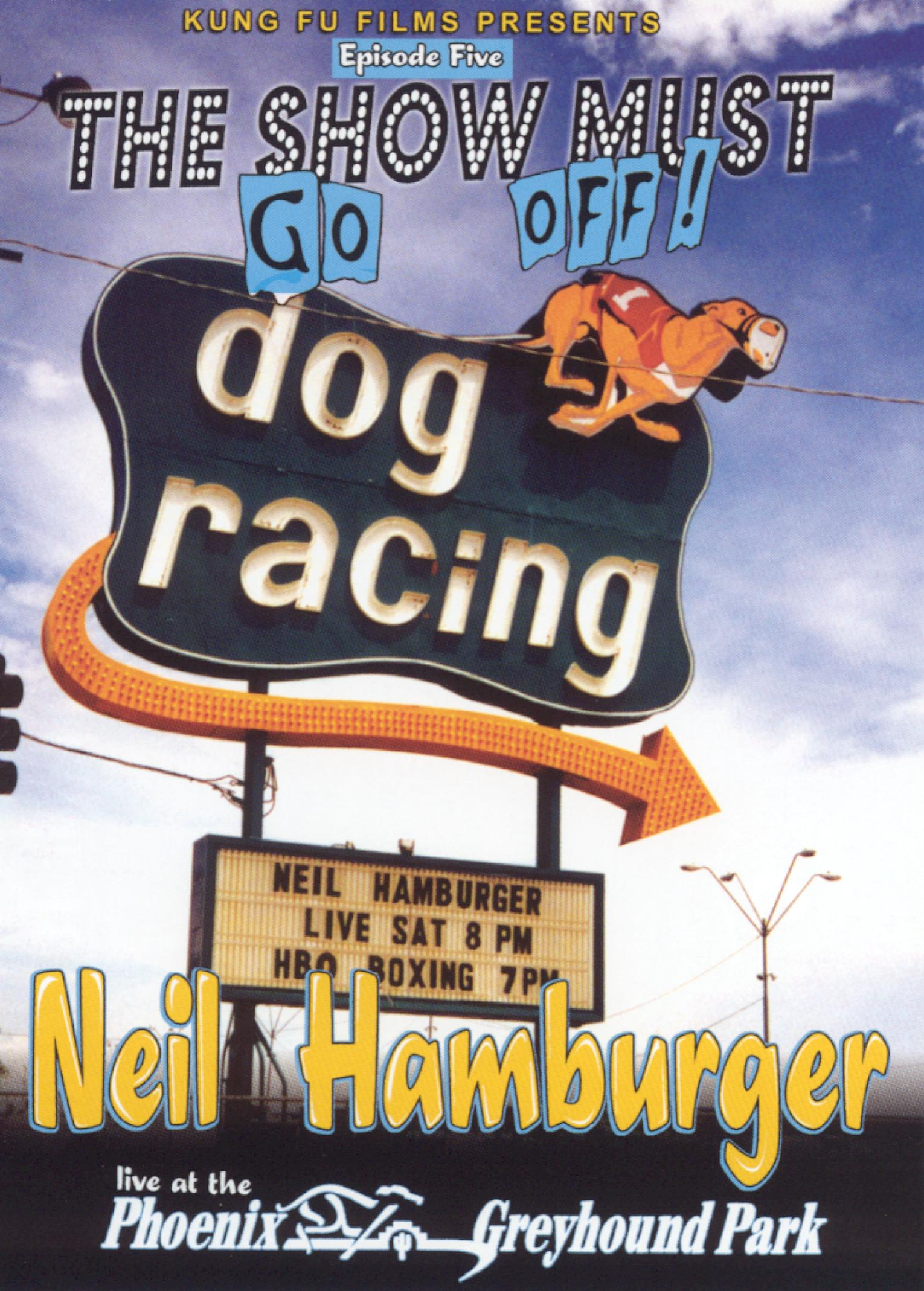 The Show Must Go Off! Neil Hamburger - Live at The Phoenix Greyhound Park