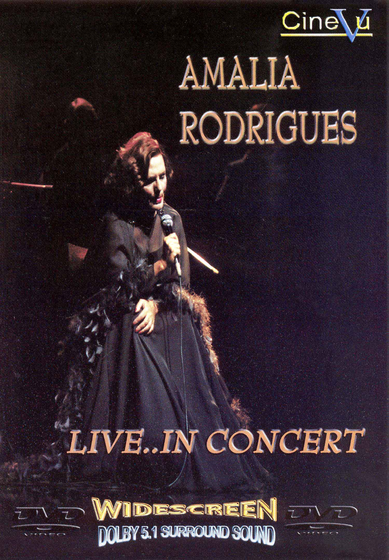 Amalia Rodrigues: Live... in Concert