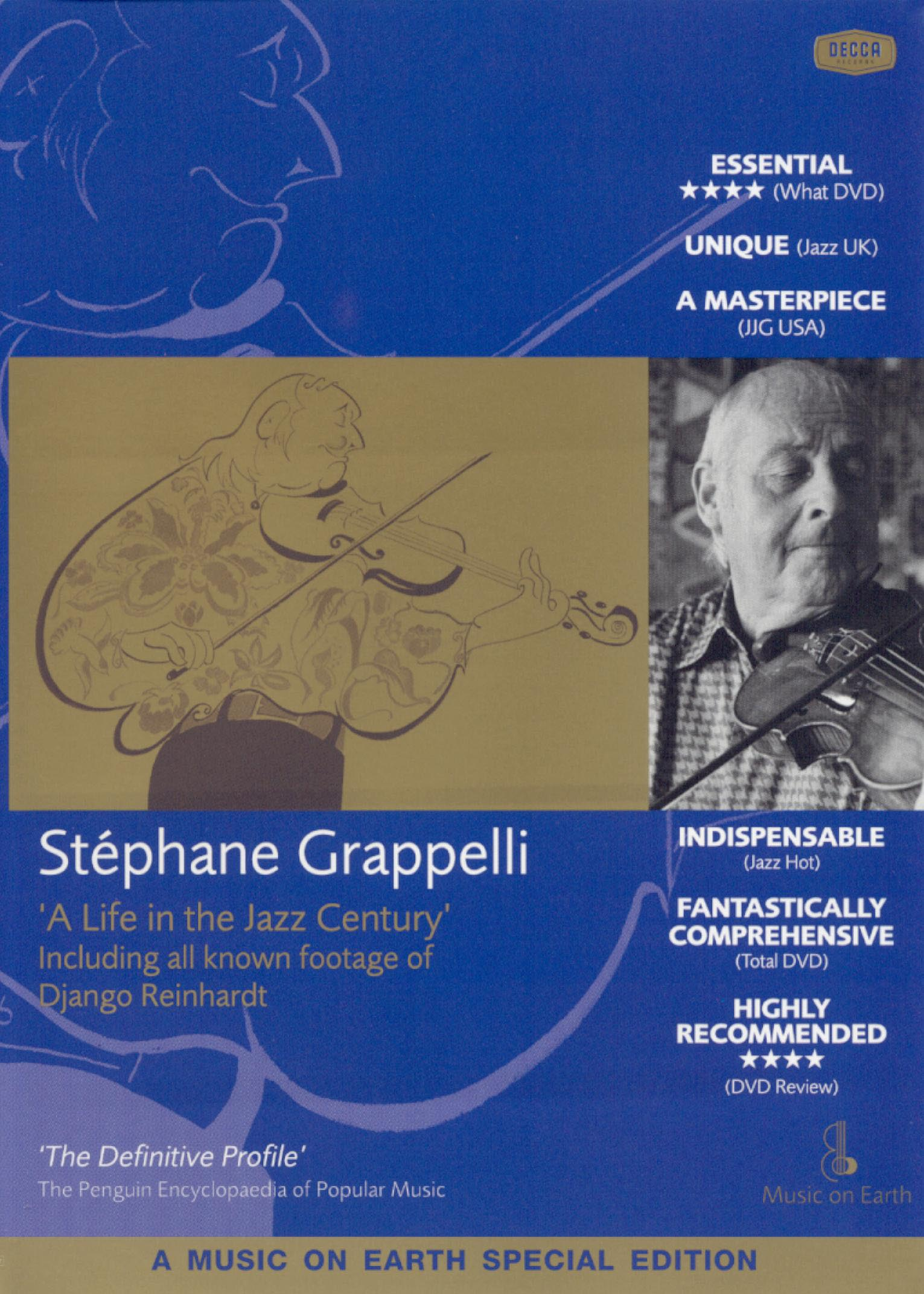 Stéphane Grappelli: A Life in the Jazz Century