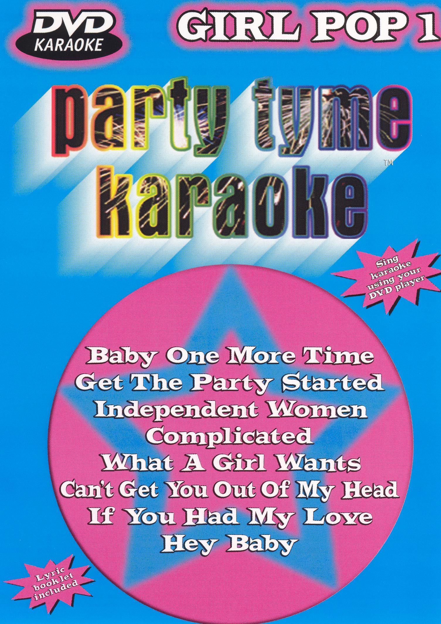 Party Tyme Karaoke: Girl Pop, Vol. 1
