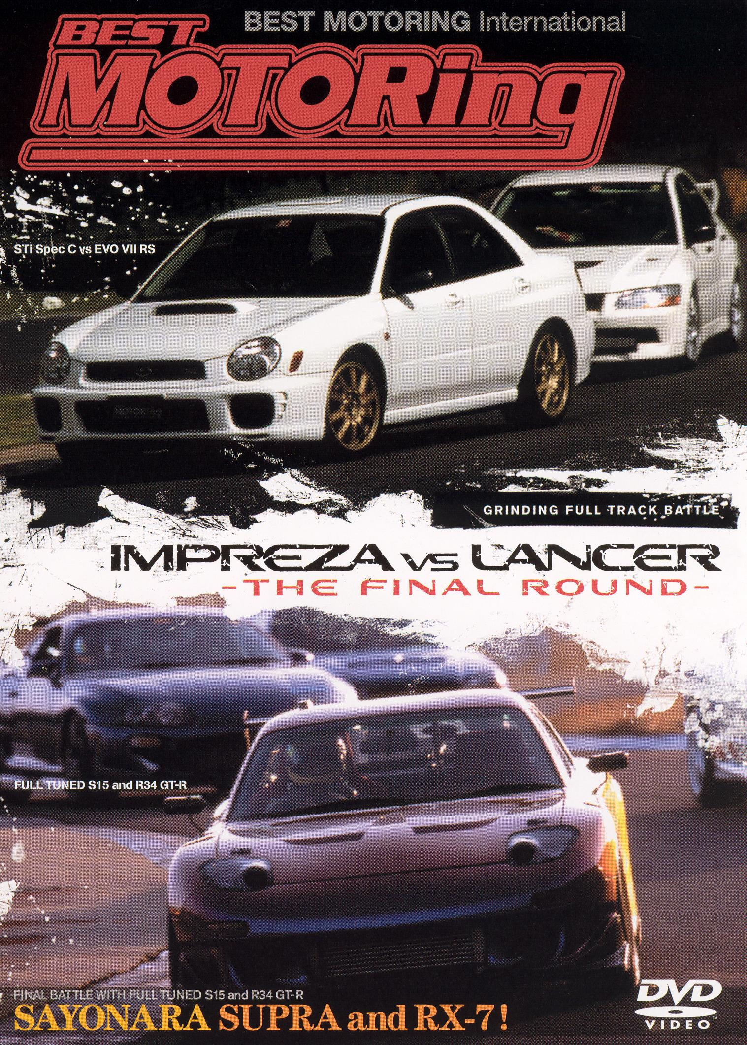 Best Motoring: Impreza vs. Lancer - The Final Round