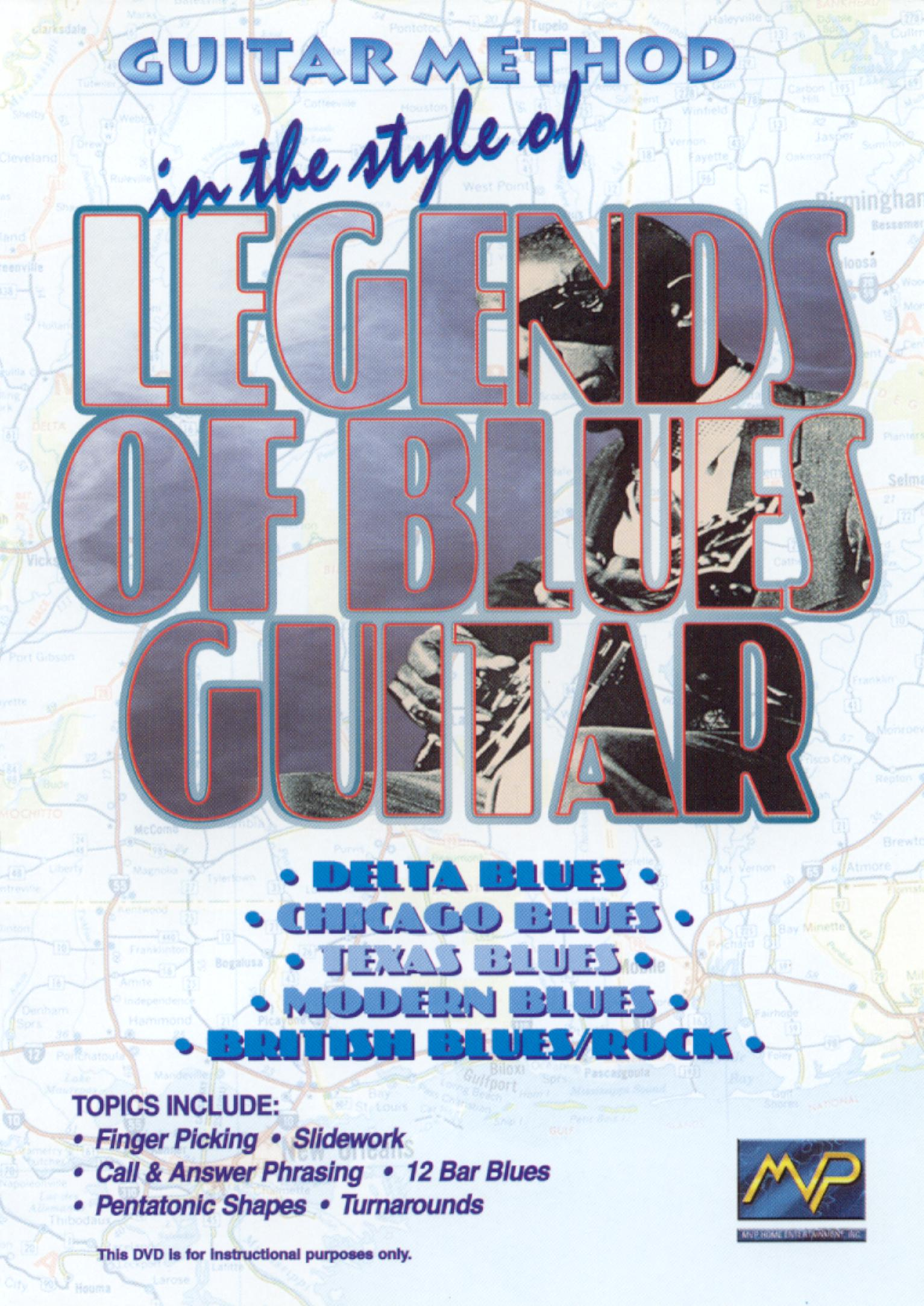 Guitar Method: In the Style of Legends of Blues Guitar