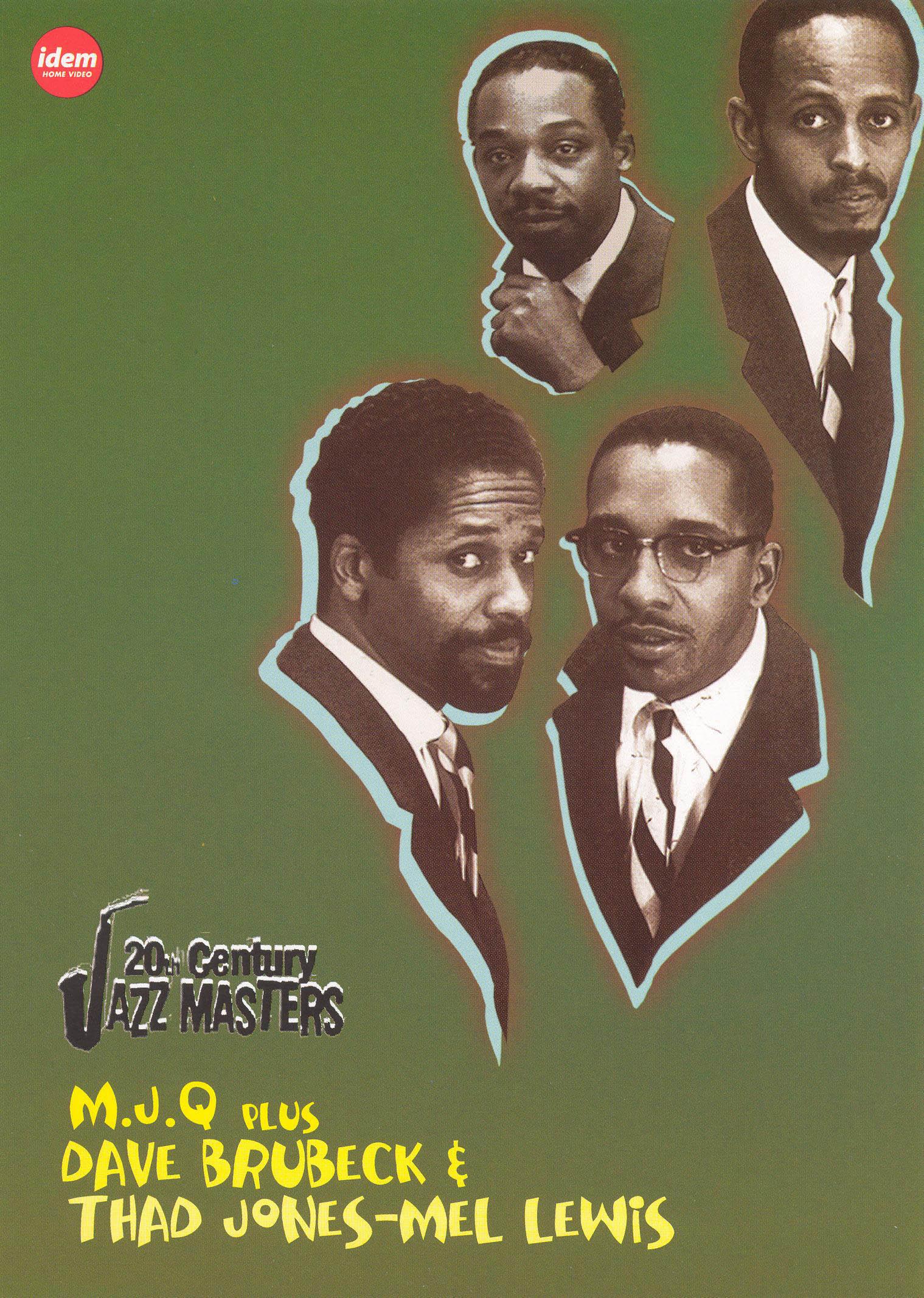 20th Century Jazz Masters: The Modern Jazz Quartet/Dave Brubeck/Thad Jones