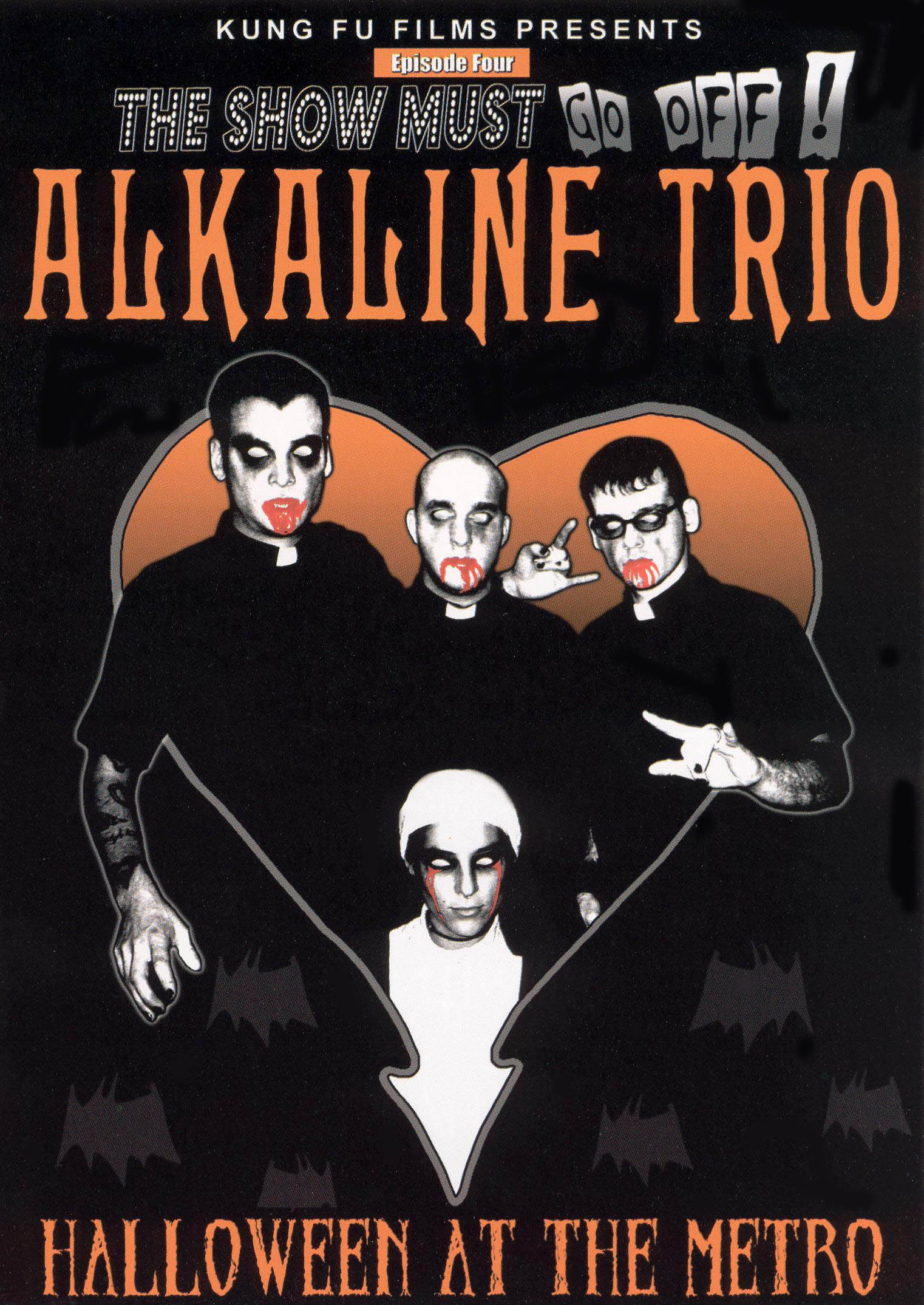 The Show Must Go Off! Alkaline Trio - Halloween at the Metro