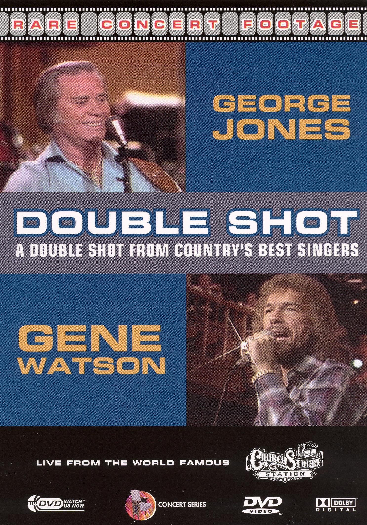 George Jones and Gene Watson: A Double Shot From Country's Best Singers