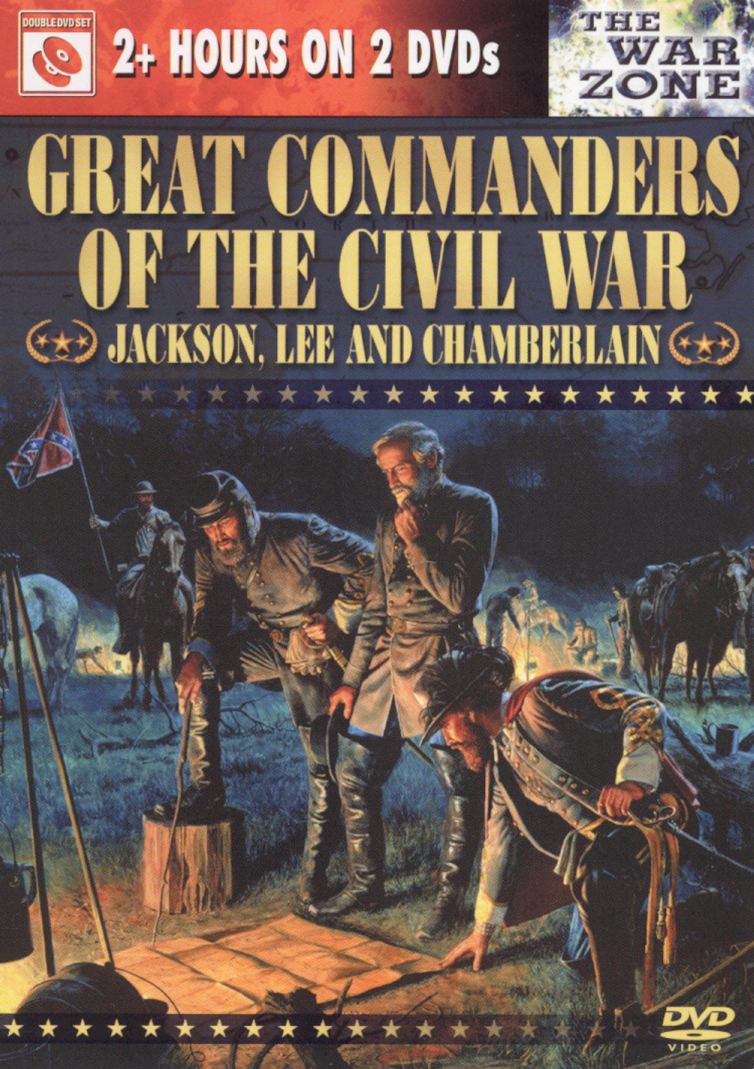 Great Commanders of the Civil War: Jackson, Lee and Chamberlain
