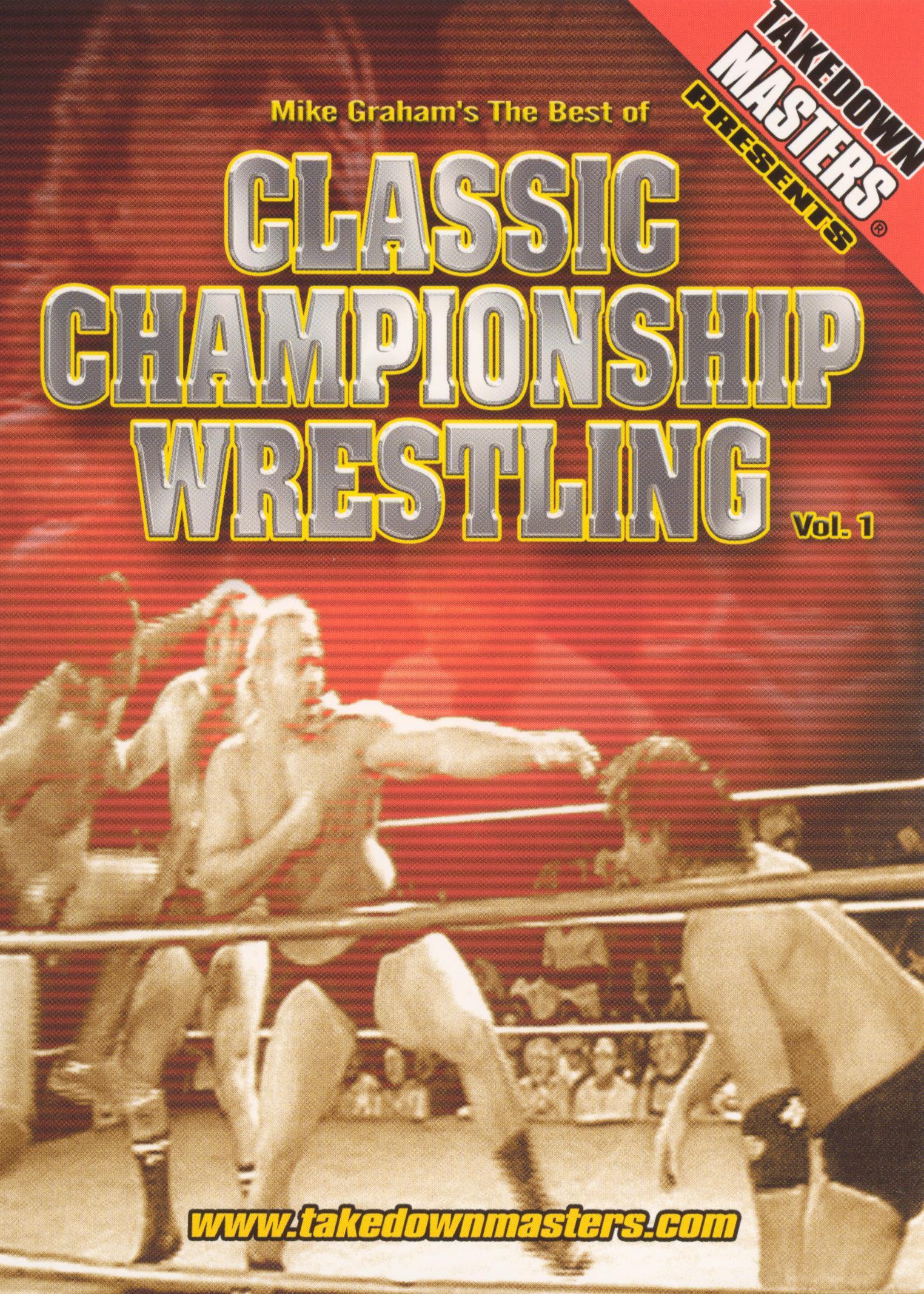 Takedown Masters: Classic Championship Wrestling, Vol. 1