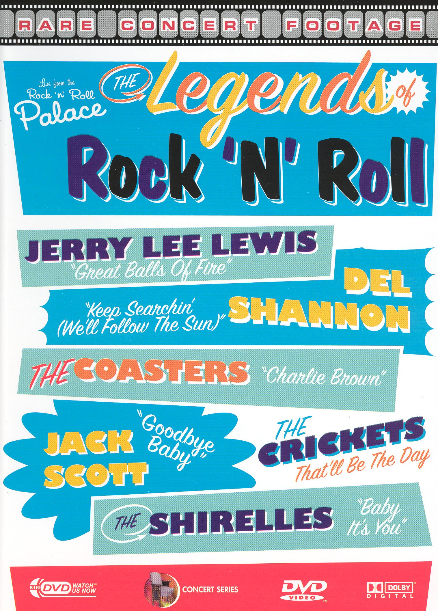 Live from the Rock 'n' Roll Palace: The Legends of Rock 'n' Roll