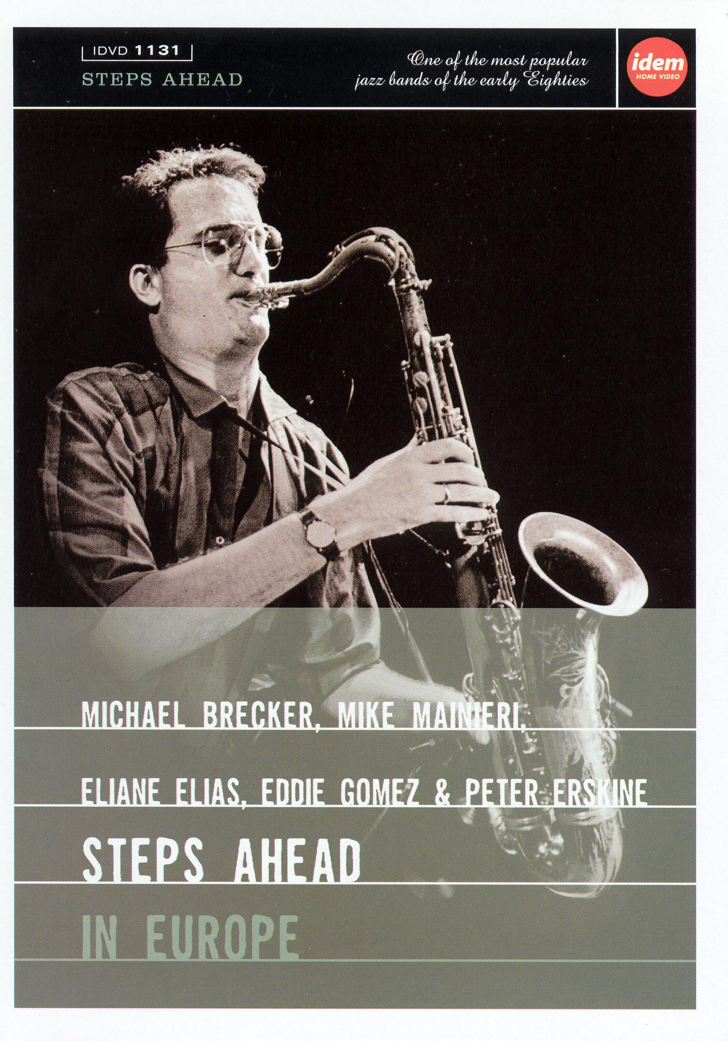Michael Brecker: Steps Ahead in Europe