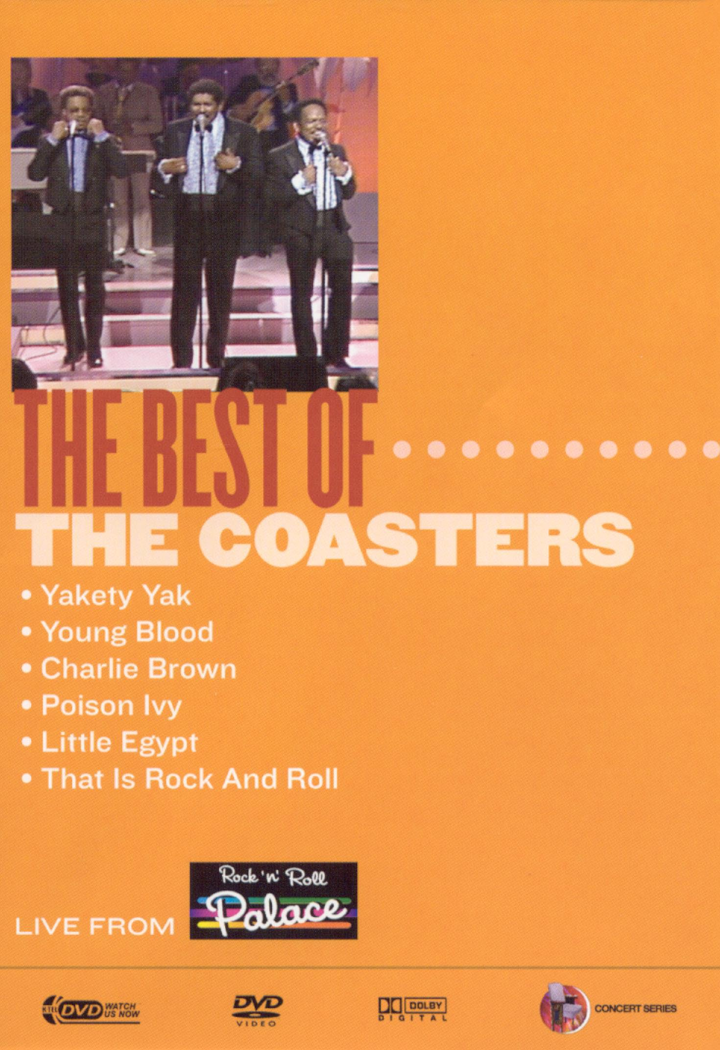 Live From Rock 'n' Roll Palace: The Best of The Coasters