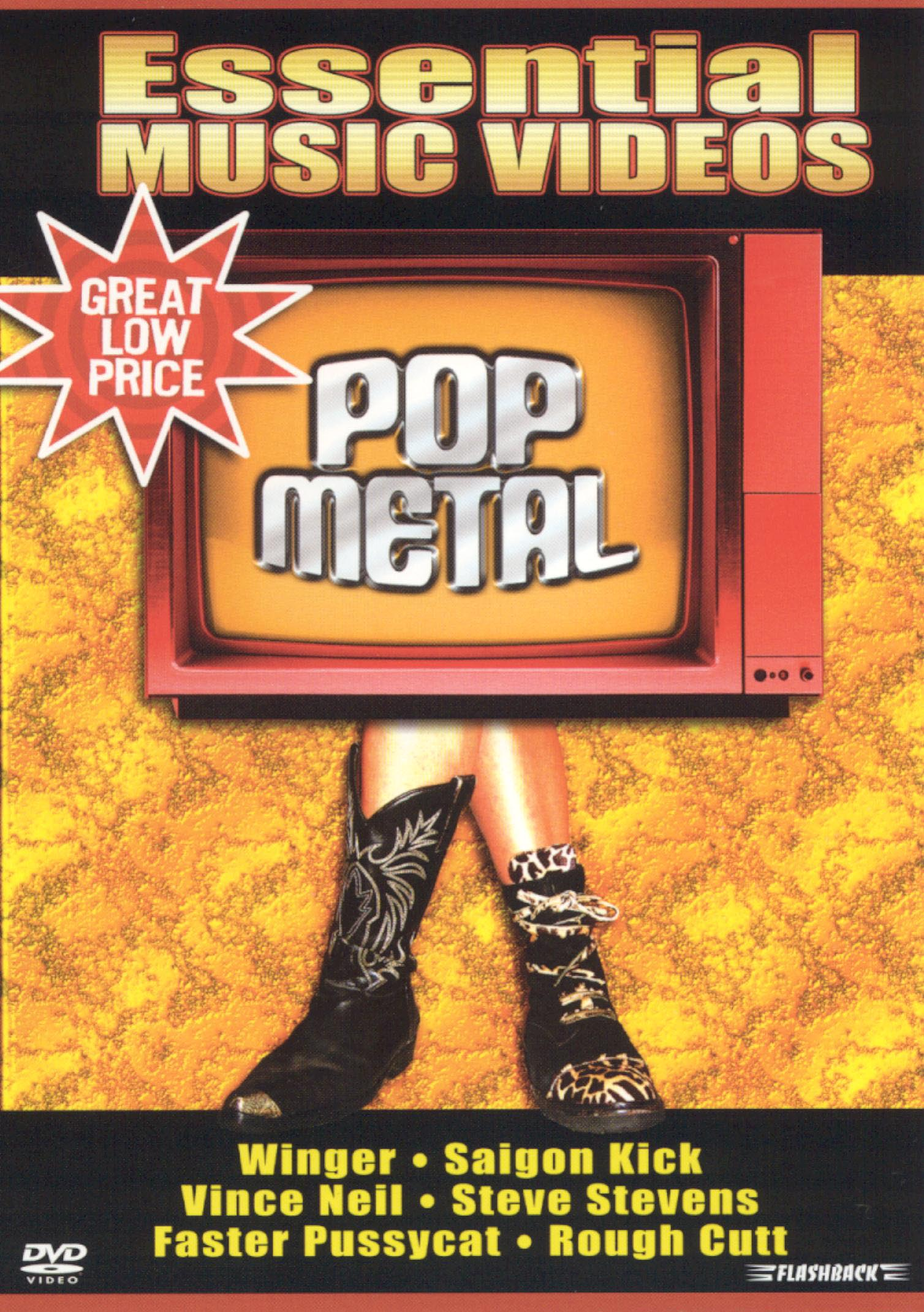 Essential Music Videos: Pop Metal