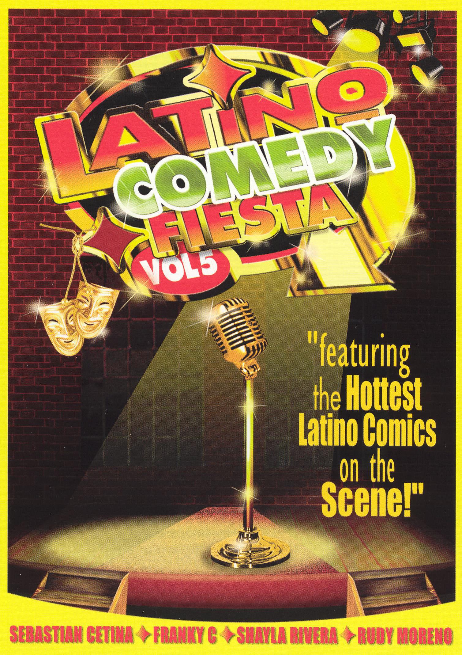 Latino Comedy Fiesta, Vol. 5