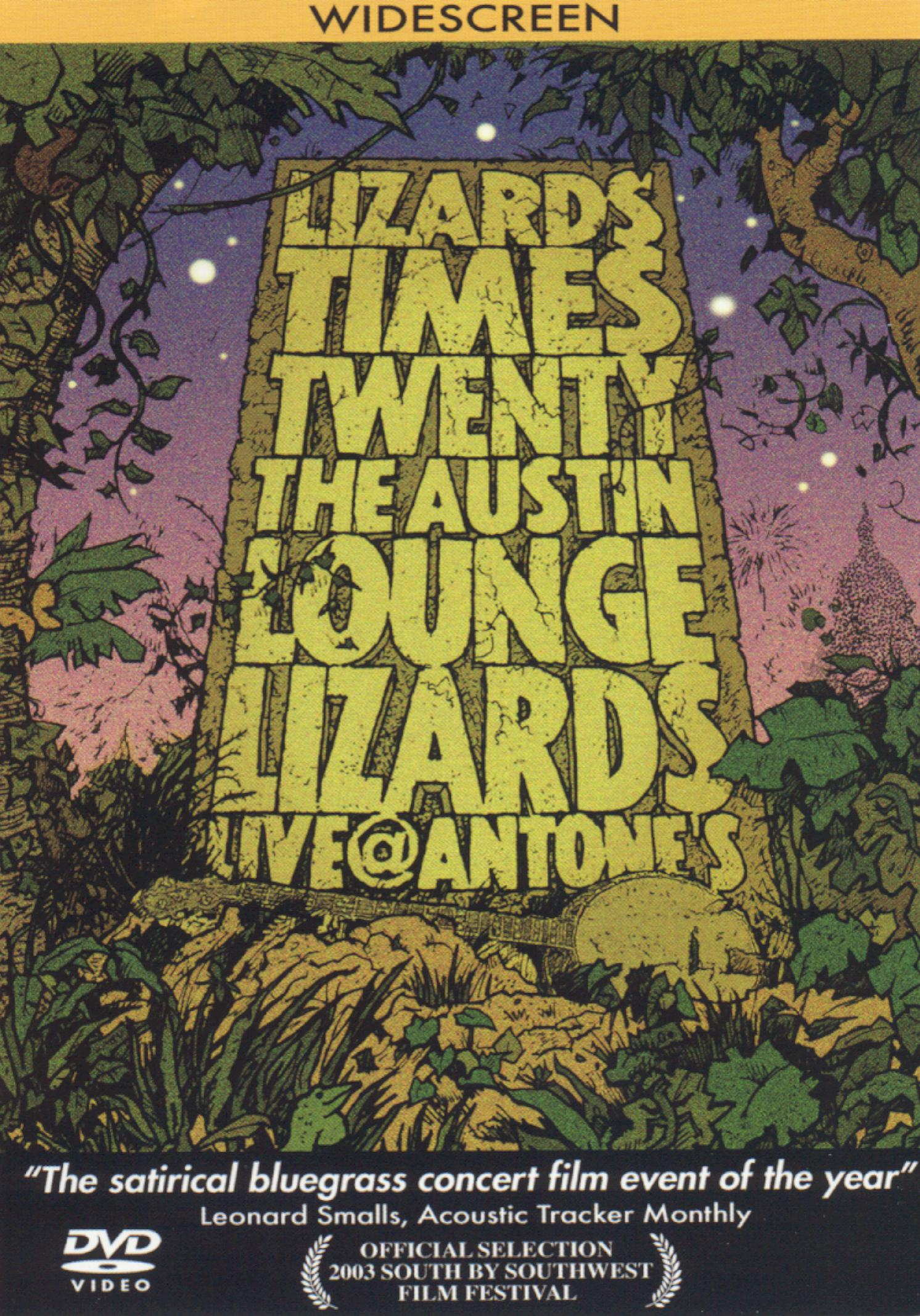 Lizard Times Twenty: The Austin Lounge Lizards - Live at Antone's