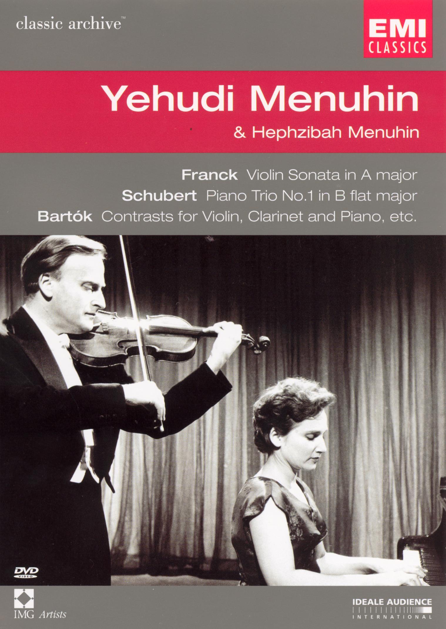 Classic Archive: Yehudi Menuhin & Hephzibah Menuhin