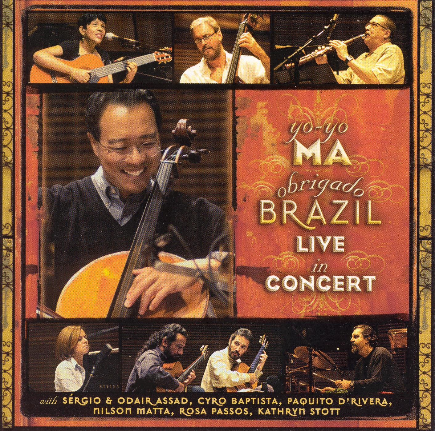 Yo-Yo Ma: Obrigado Brazil - Live in Concert