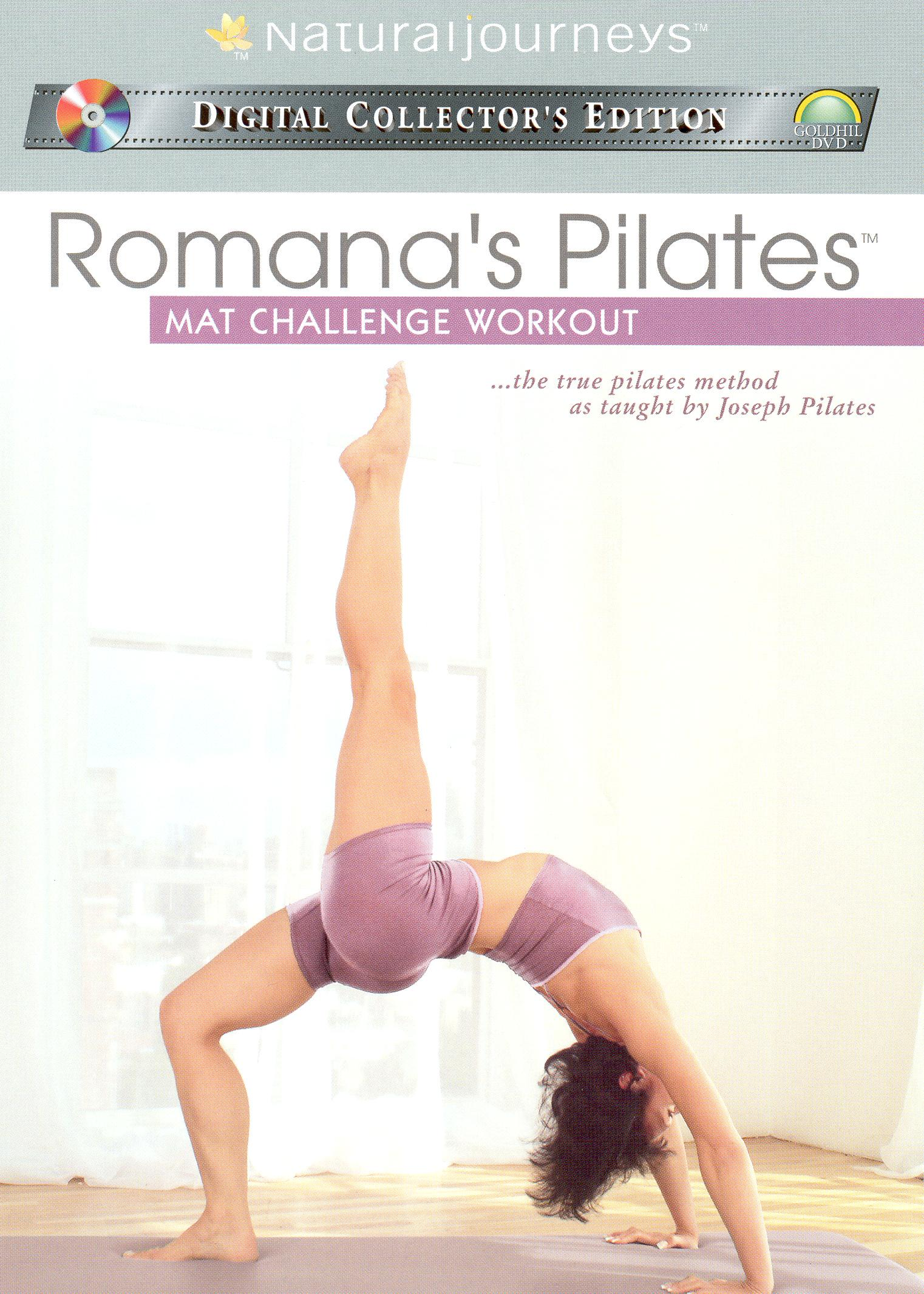 Romana's Pilates: Mat Challenge Workout