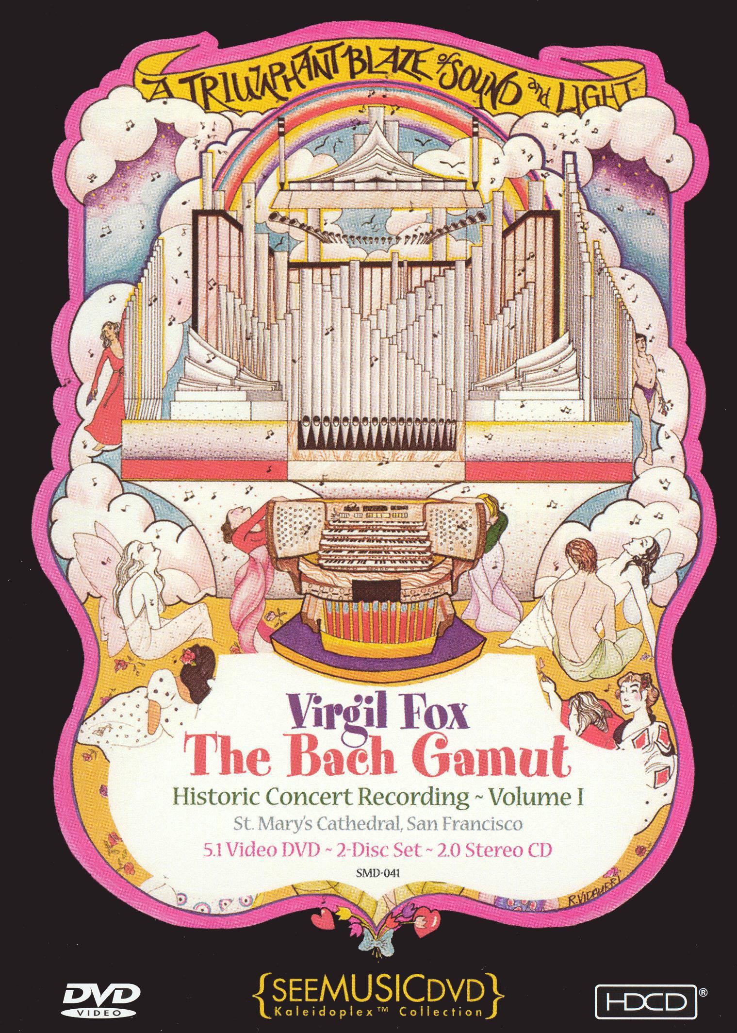 Virgil Fox: The Bach Gamut, Vol. 1