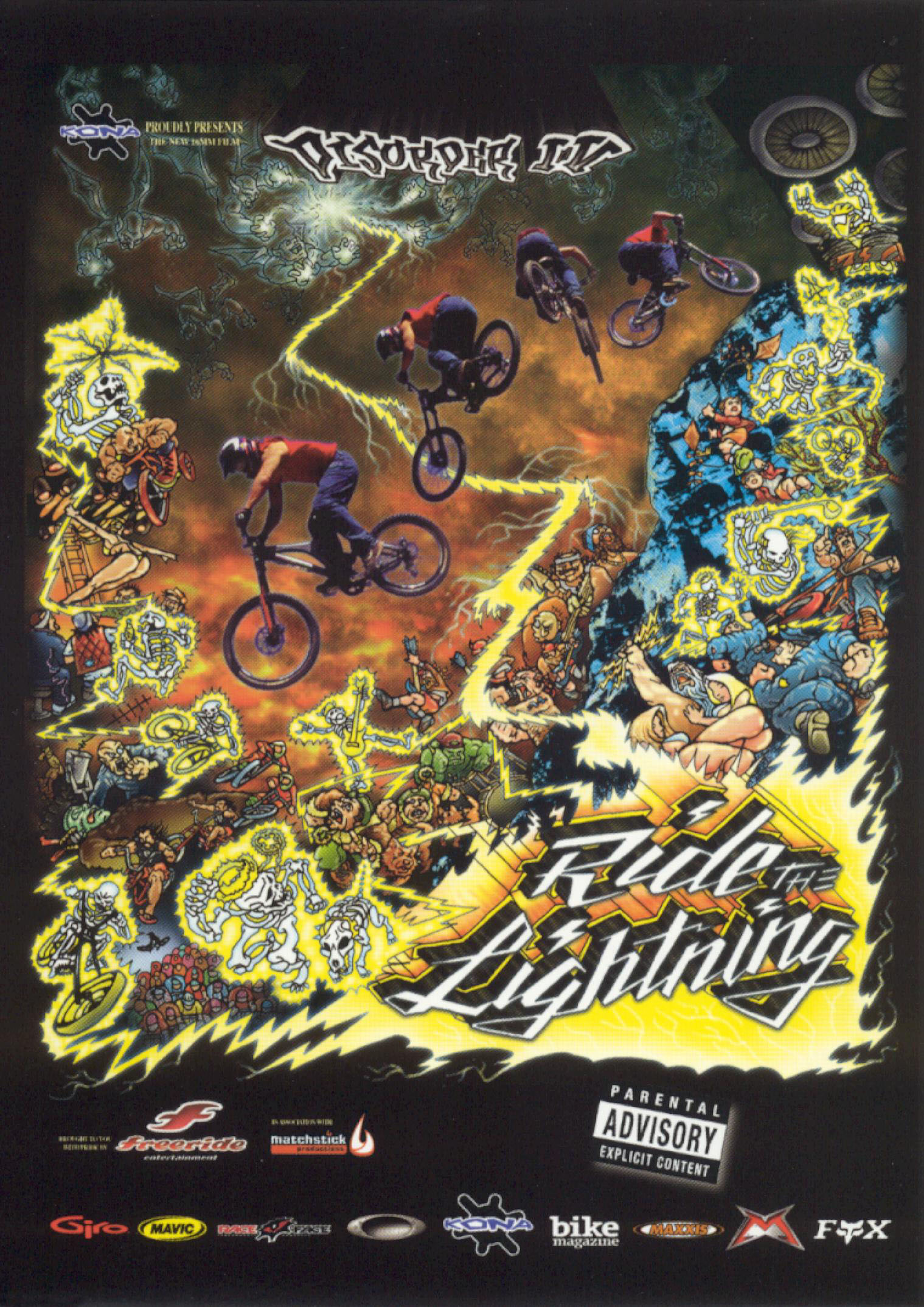 White Knuckle Extreme: Disorder IV - Ride the Lightning