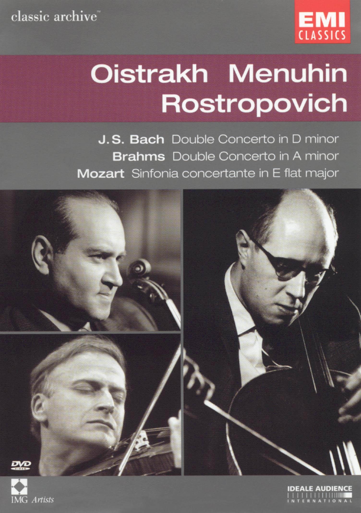 Classics Archive: Oistrakh/Menhuin/Rostropvich
