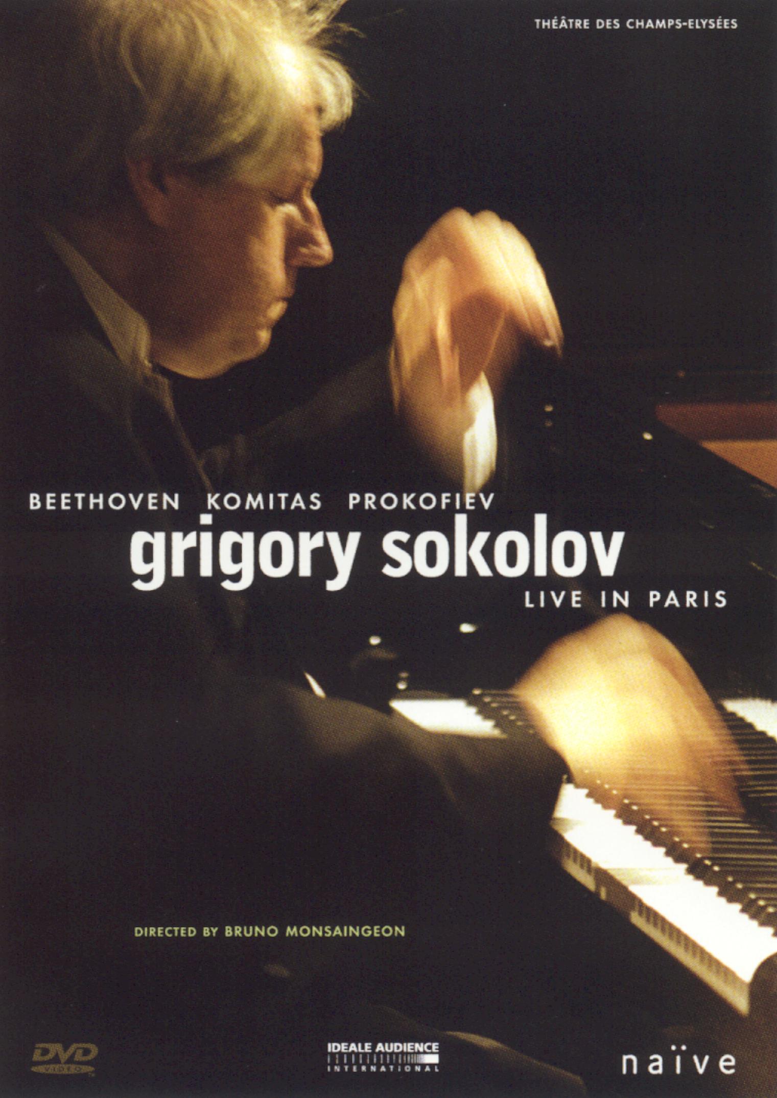 Grigory Sokolov: Live in Paris - Beethoven/Komitas/Prokofiev