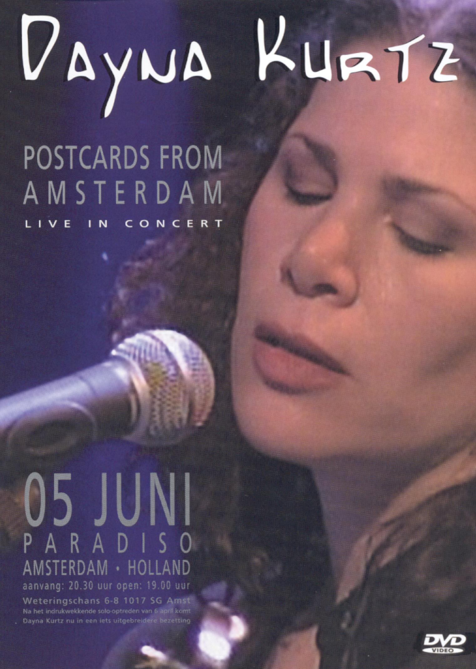 Dayna Kurtz: Postcards From Amsterdam - Live in Concert