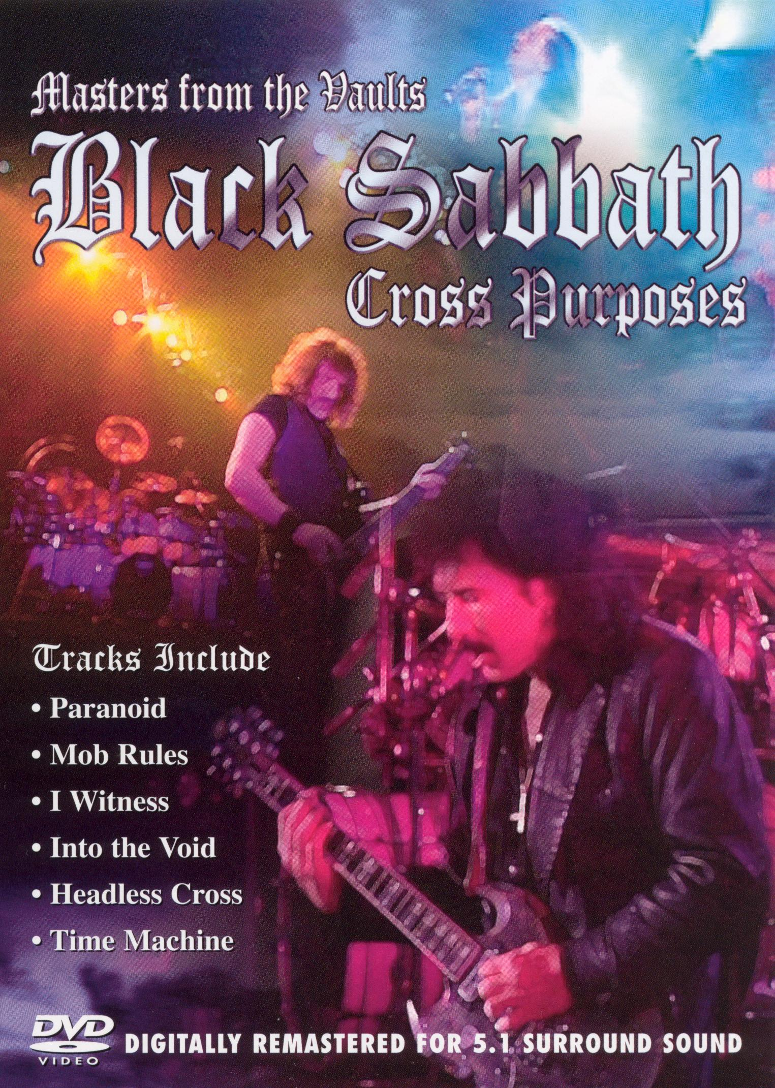 Masters From the Vaults: Black Sabbath - Cross Purposes