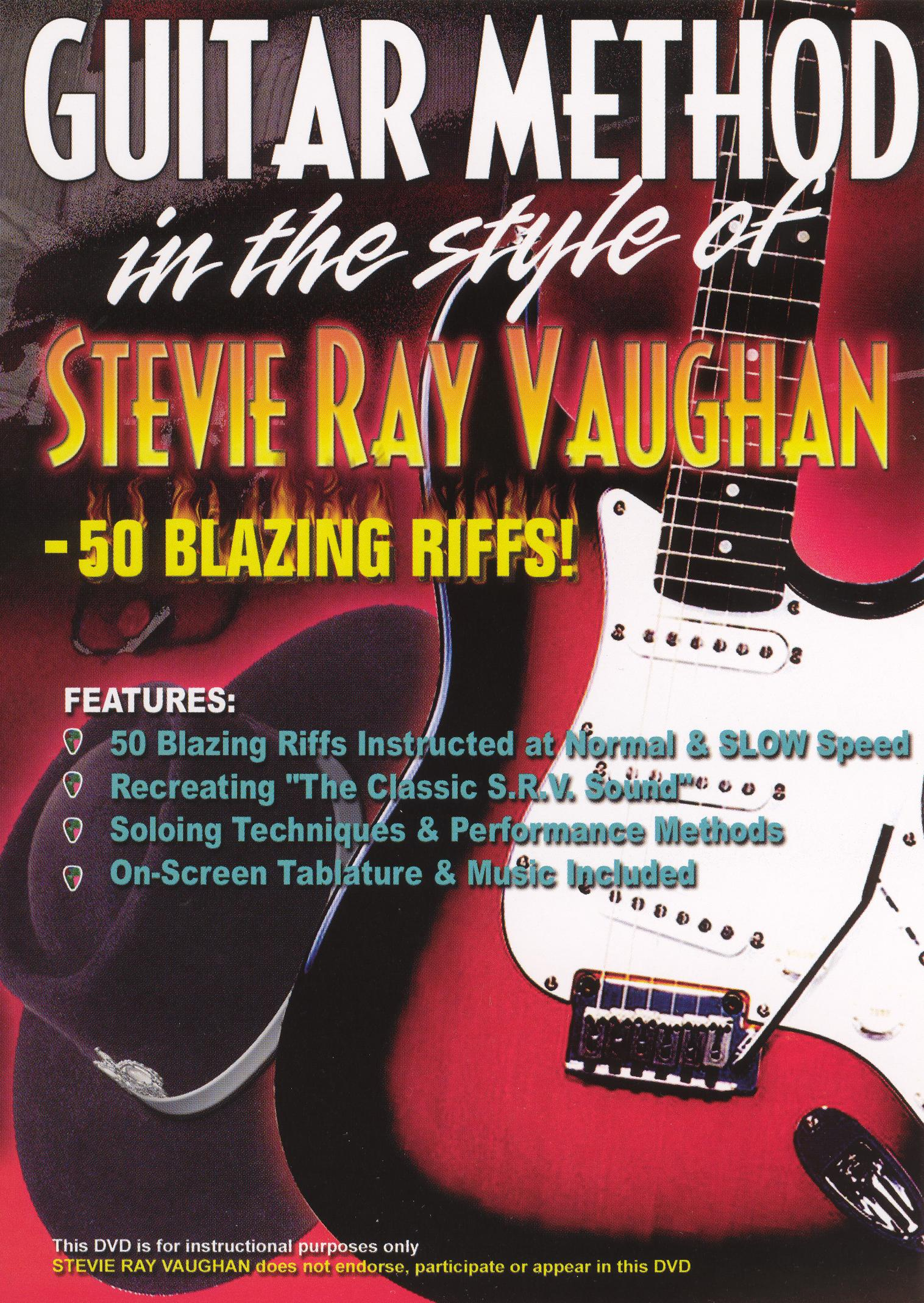 Stevie Ray Vaughan: 50 Blazing Riffs