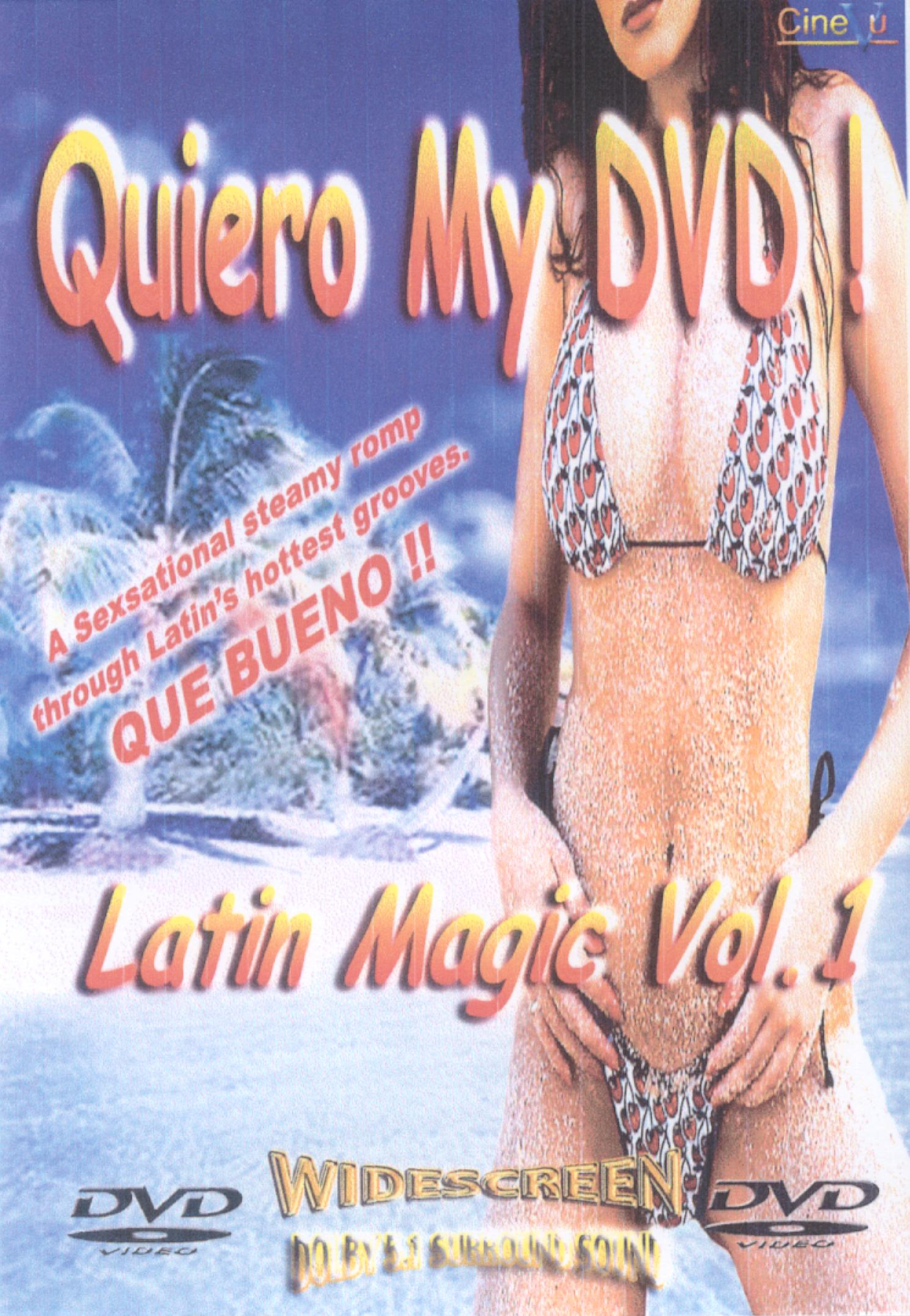 Quiero My DVD! Latin Magic, Vol. 1