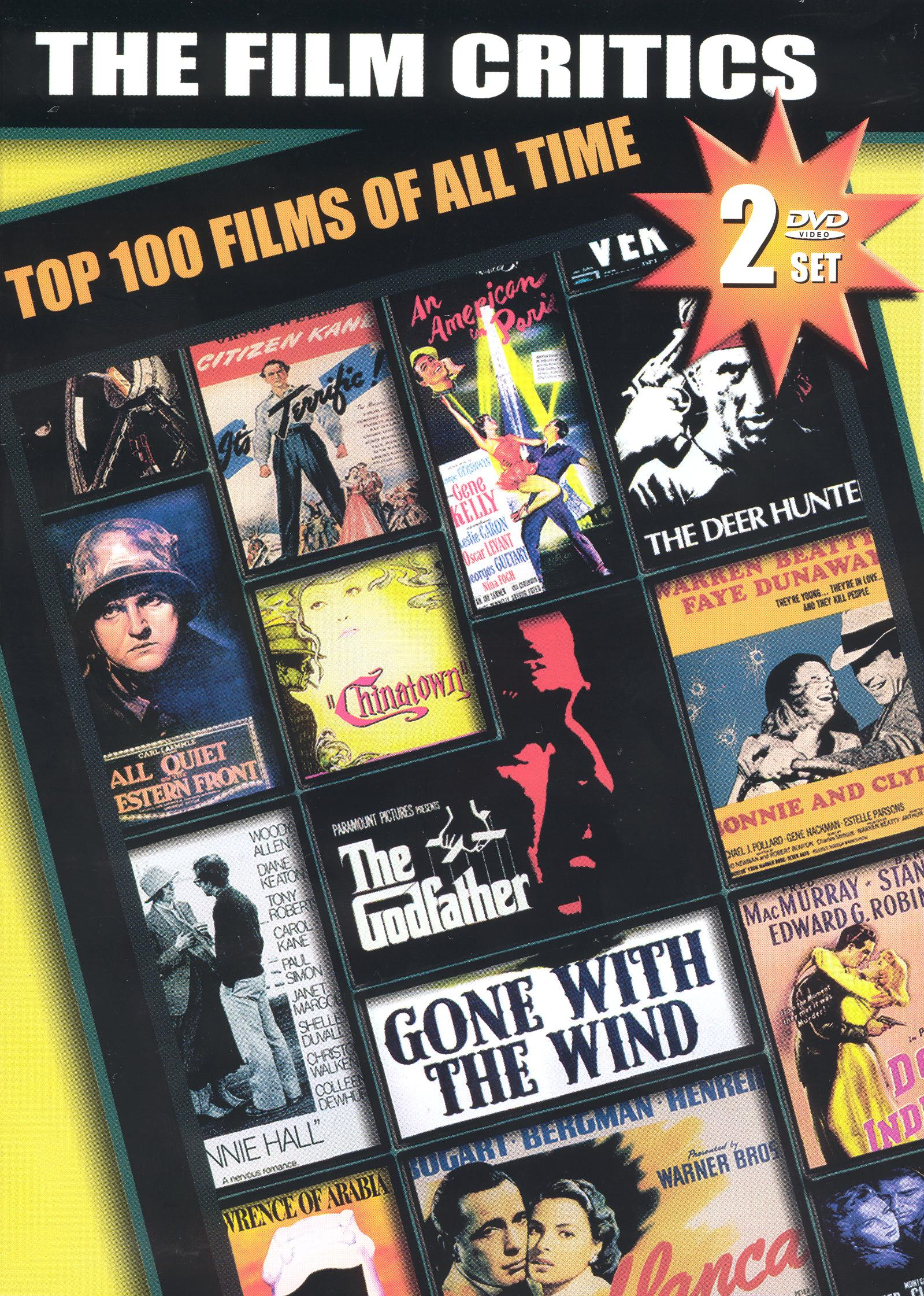 Film Critics: Top 100 Films of All Time