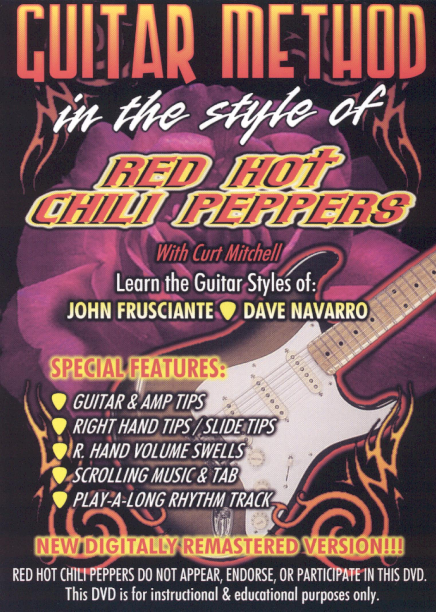 Guitar Method: In the Style of Red Hot Chili Peppers