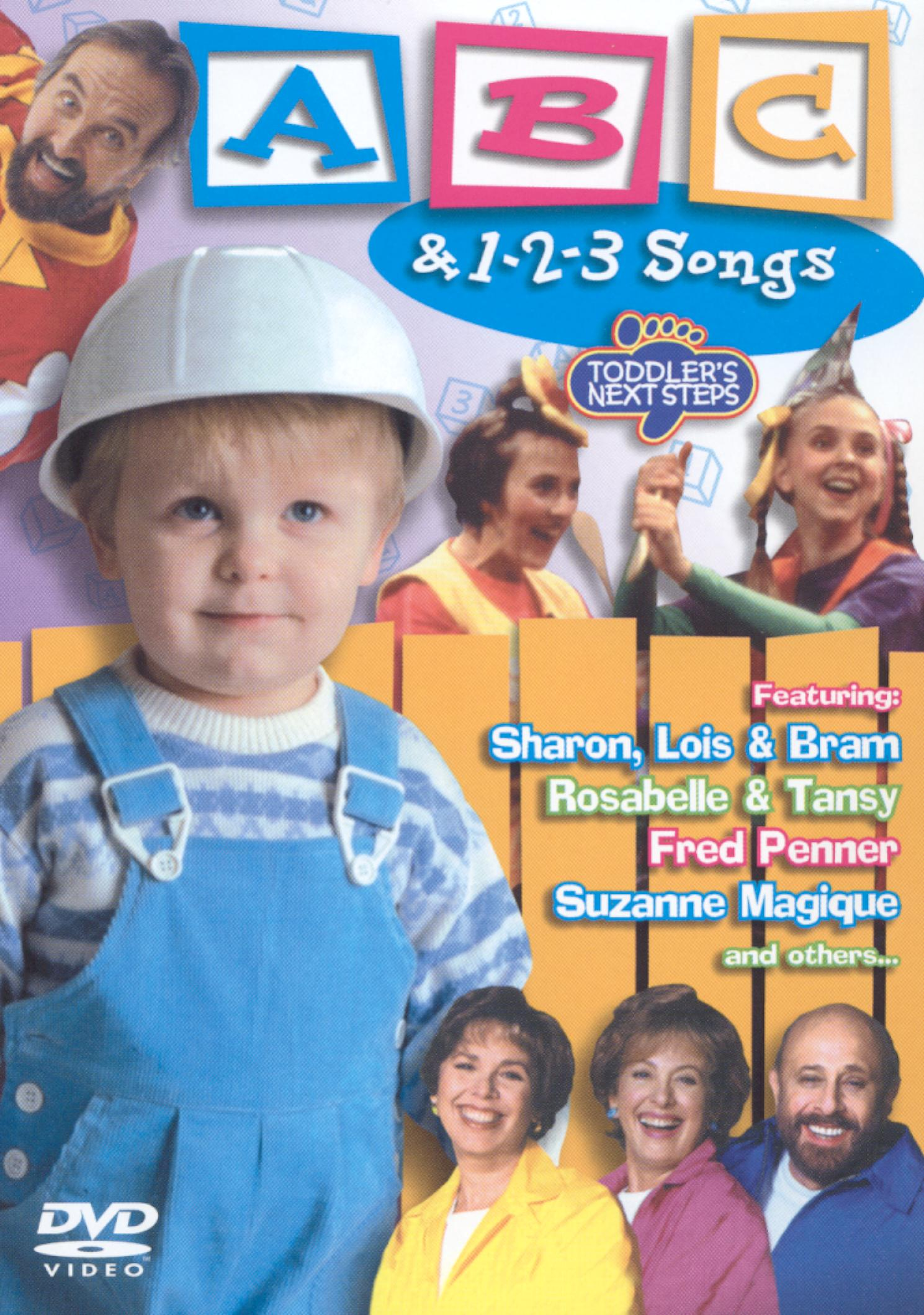 Toddler's Next Steps: ABC and 1-2-3 Songs