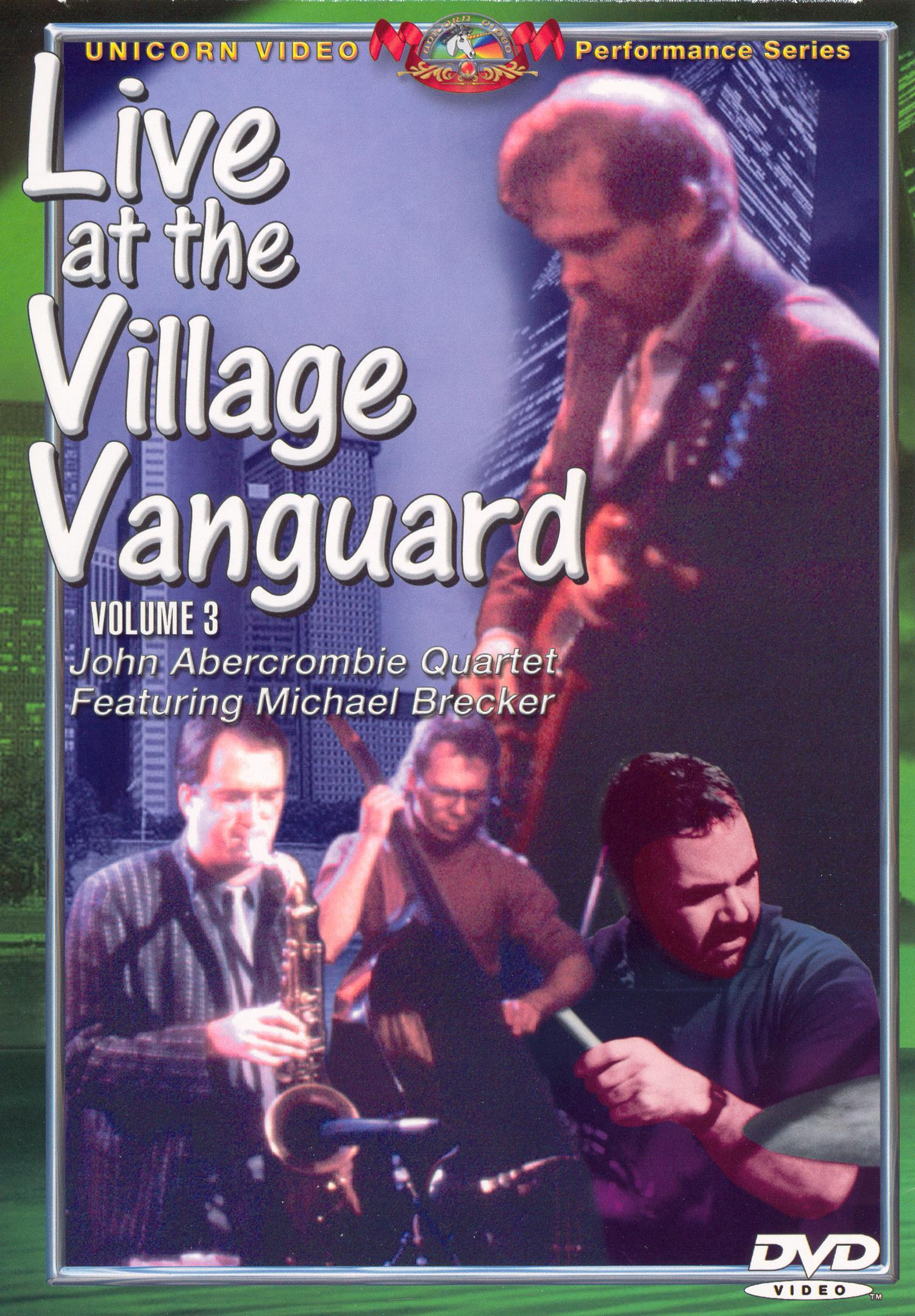 Live from the Village Vanguard, Vol. 3