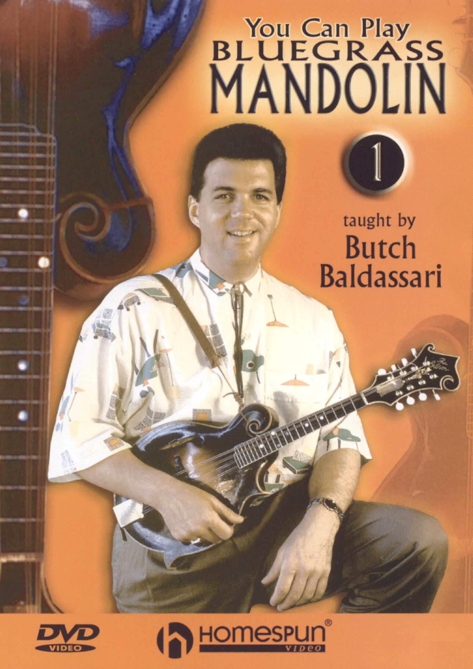 You Can Play Bluegrass Mandolin, Vol. 1