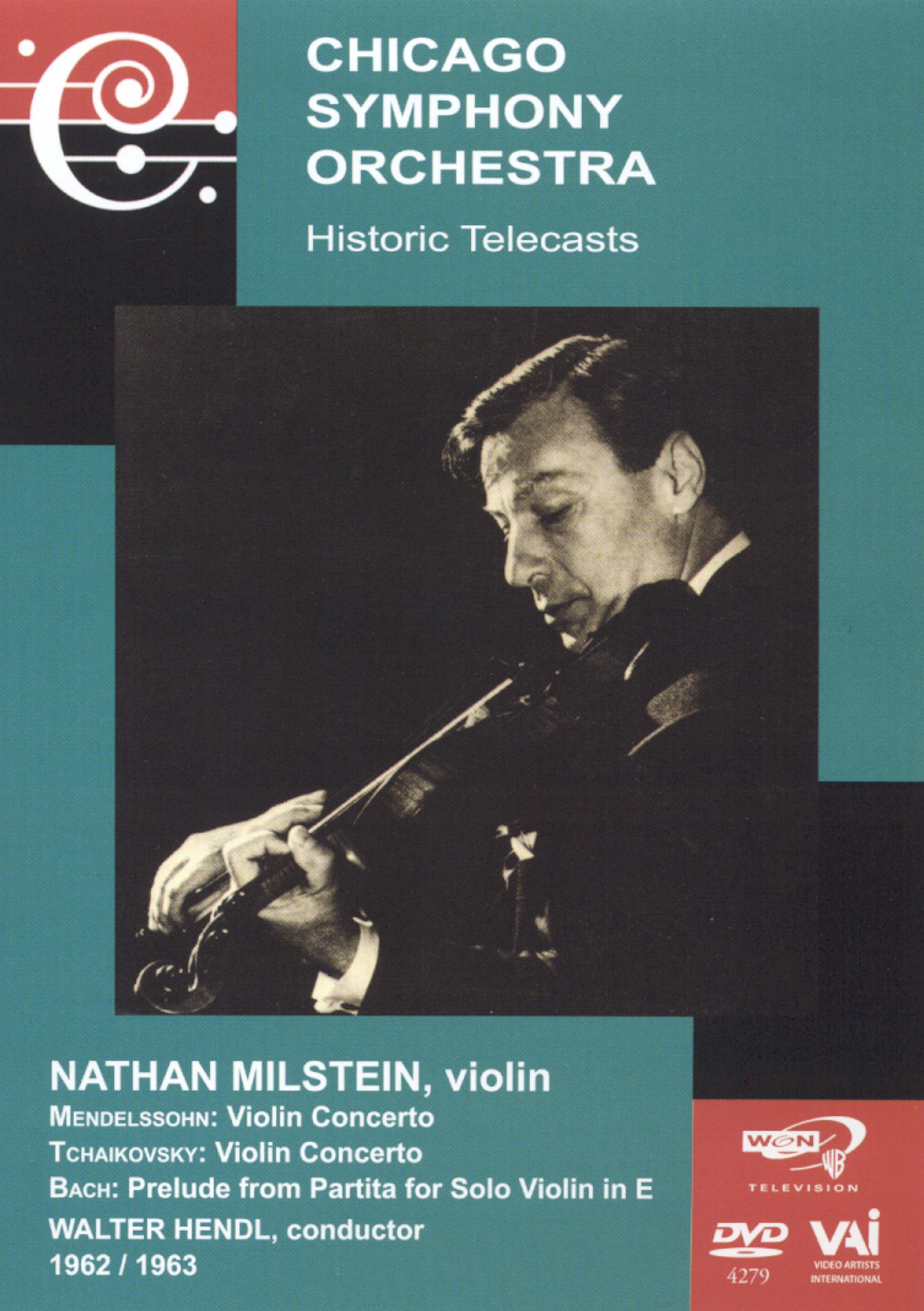Chicago Symphony Orchestra Historic Telecasts, Vol. 8: Nathan Milstein