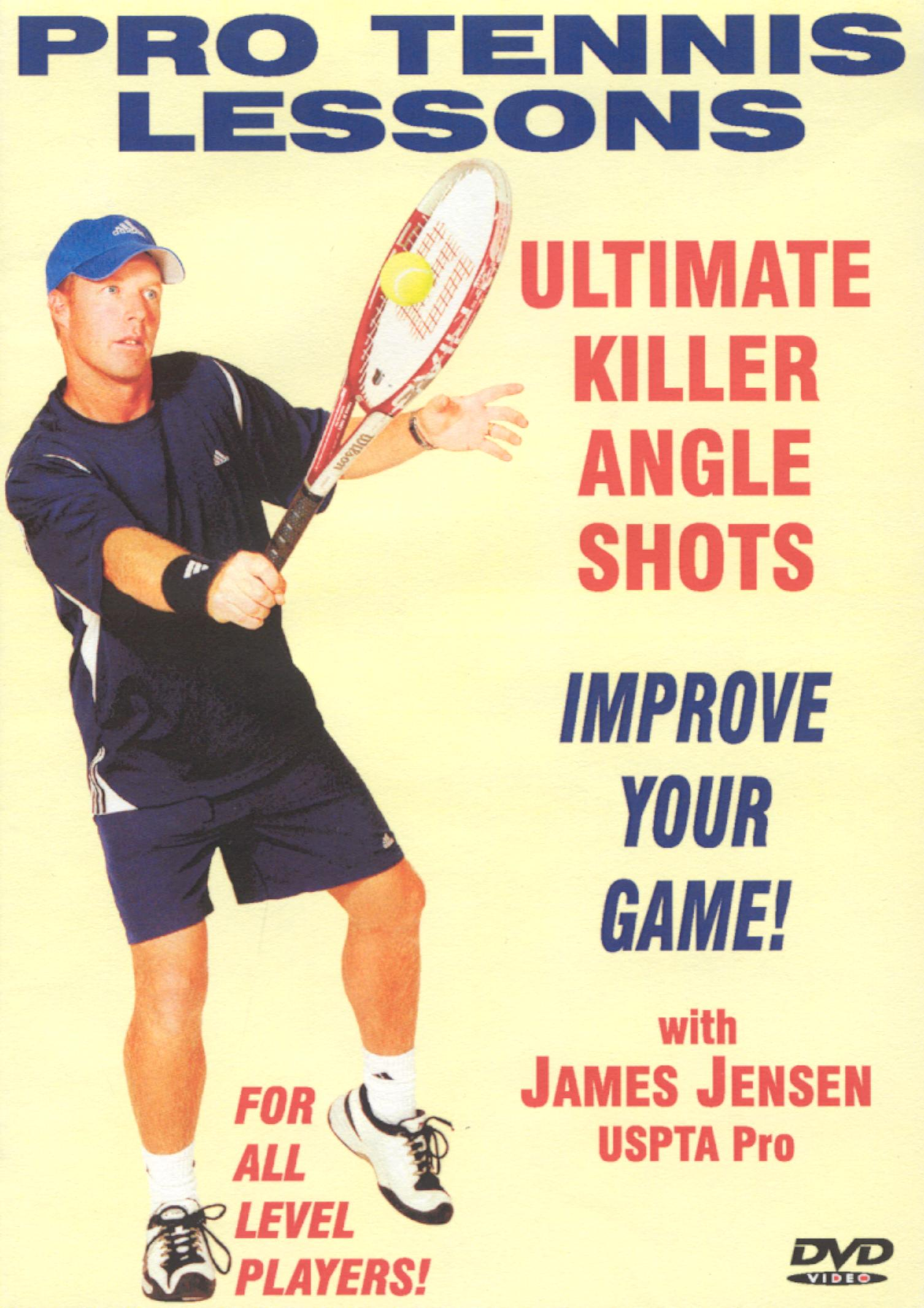 Pro Tennis Lessons: Ultimate Killer Angle Shots